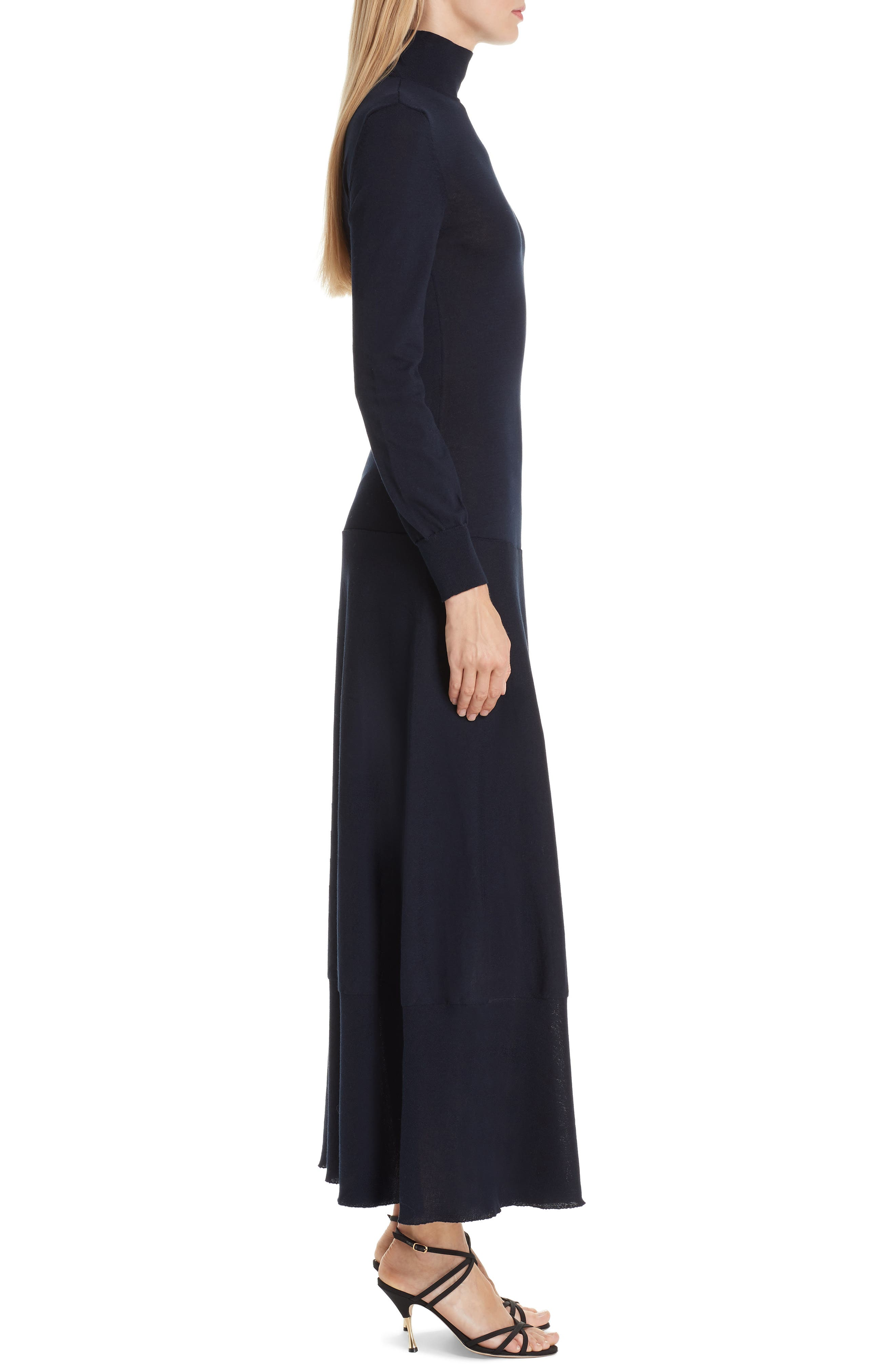 La Robe Baya Knit Dress,                             Alternate thumbnail 3, color,                             400