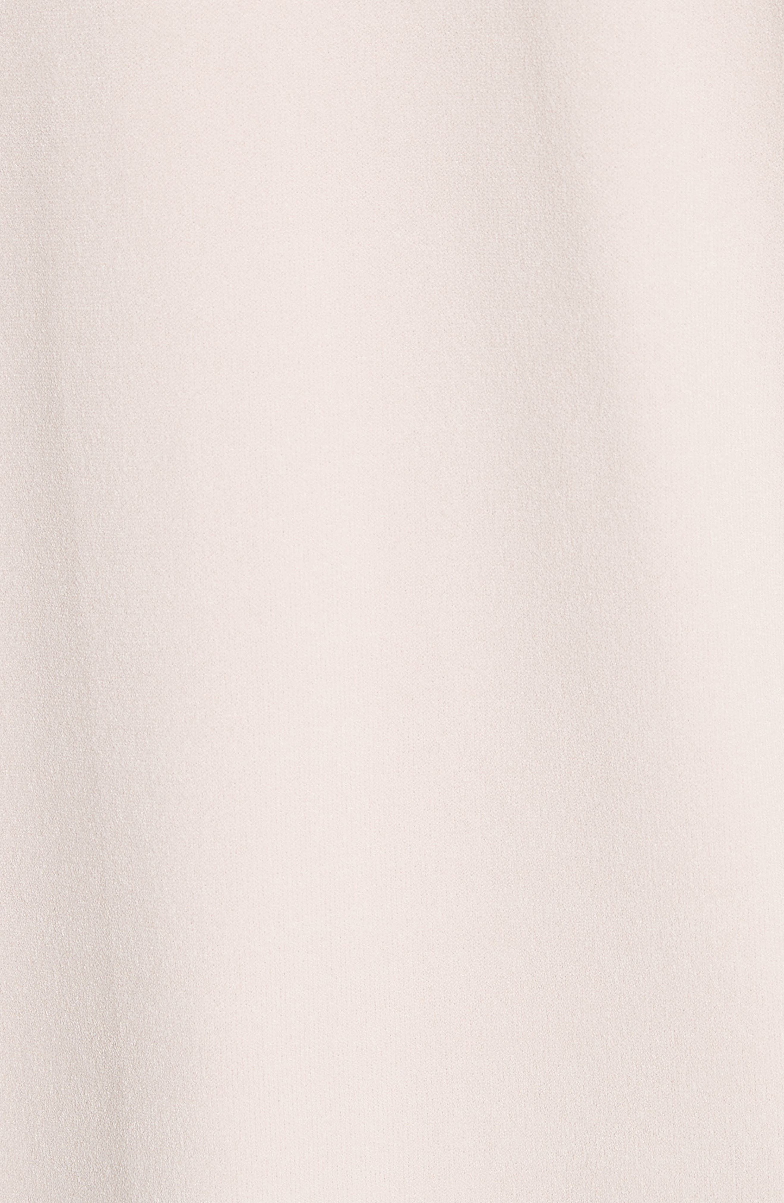 Ruffle Trim Cold Shoulder Minidress,                             Alternate thumbnail 5, color,                             653