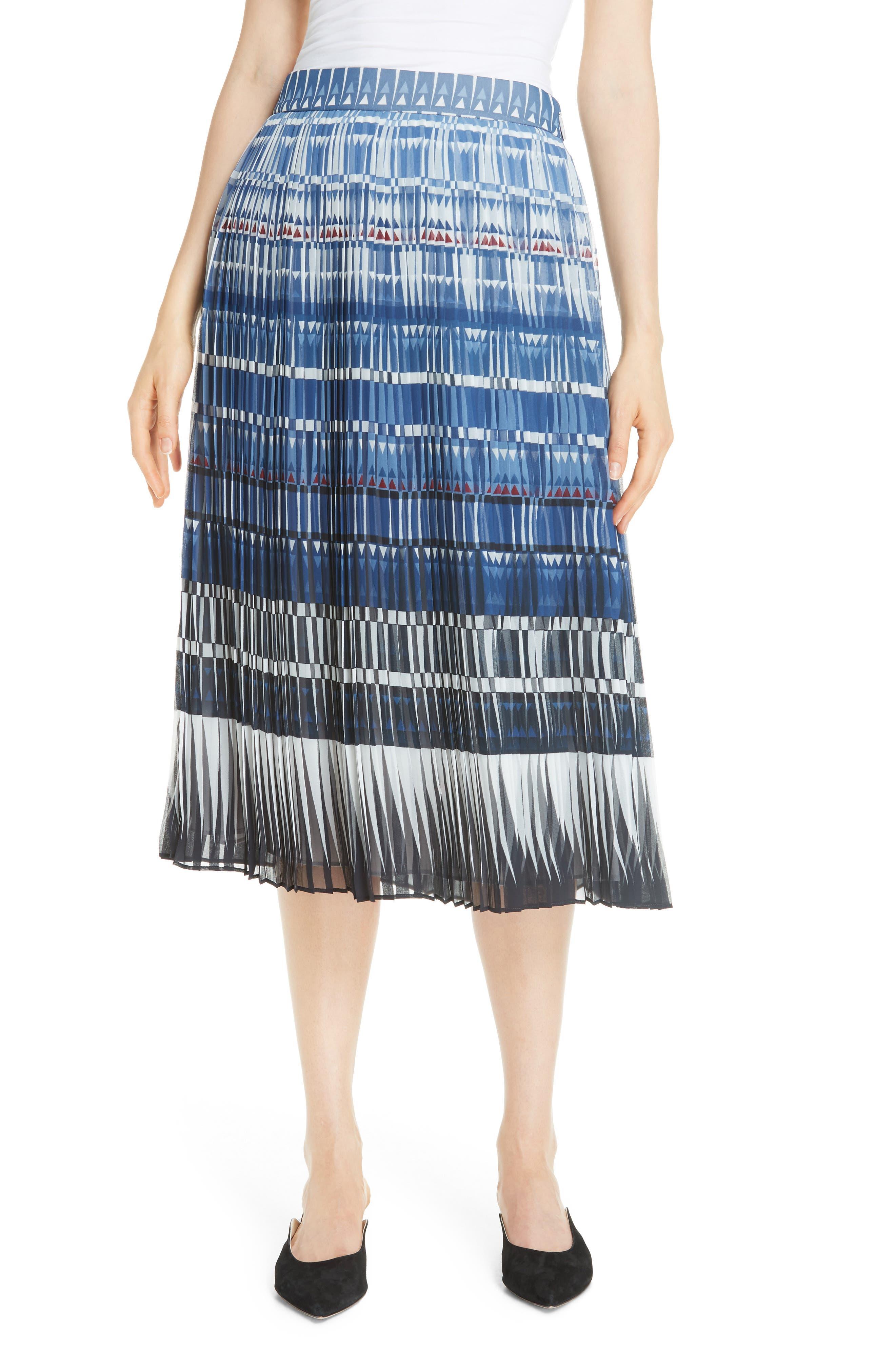 KATE SPADE NEW YORK deco beale skirt, Main, color, 473