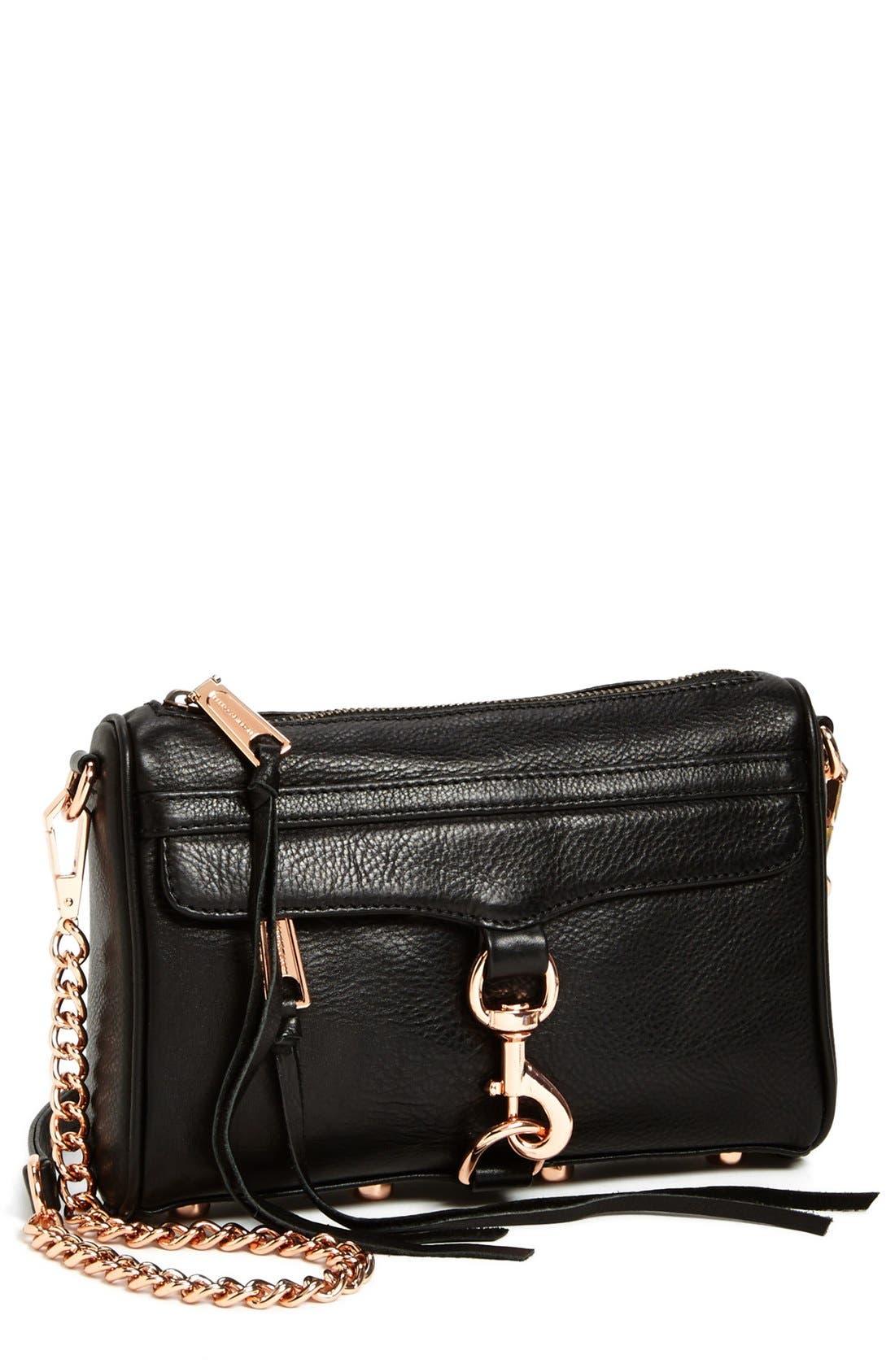 'Mini MAC' Convertible Crossbody Bag,                             Main thumbnail 1, color,