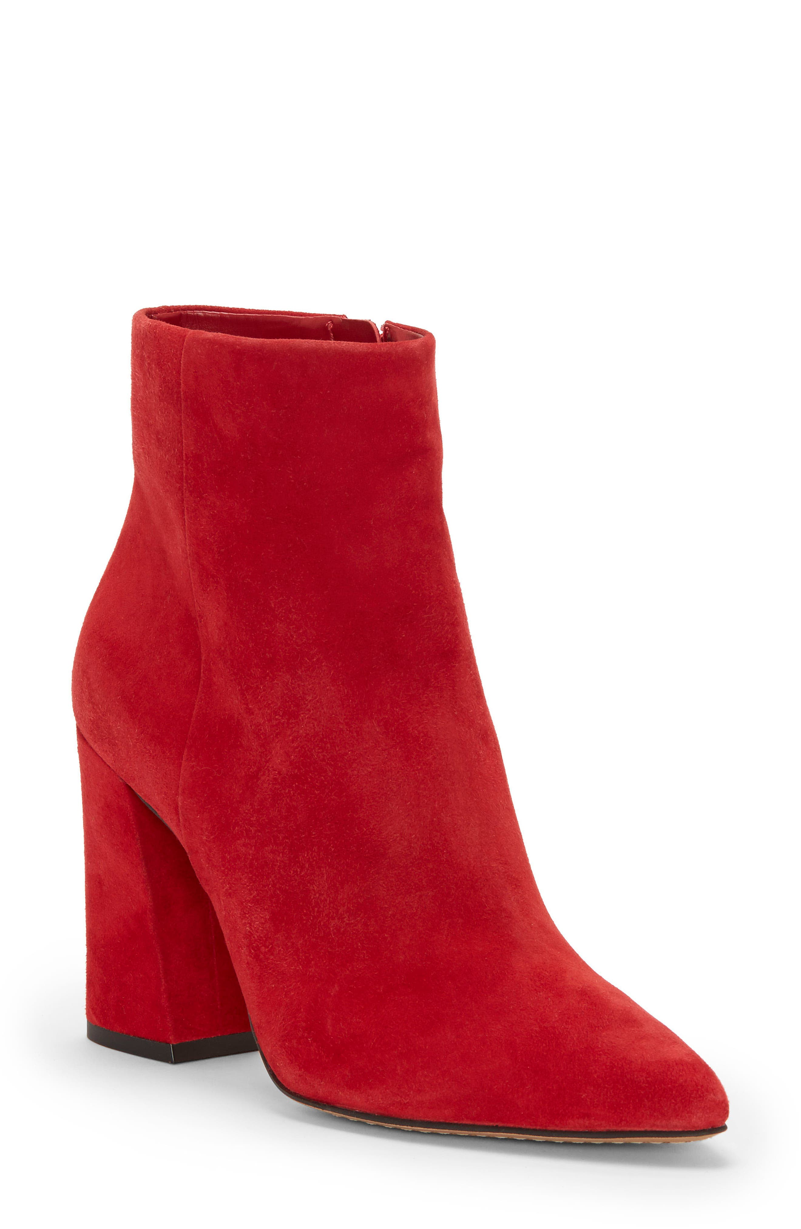 Vince Camuto Thelmin Bootie, Red