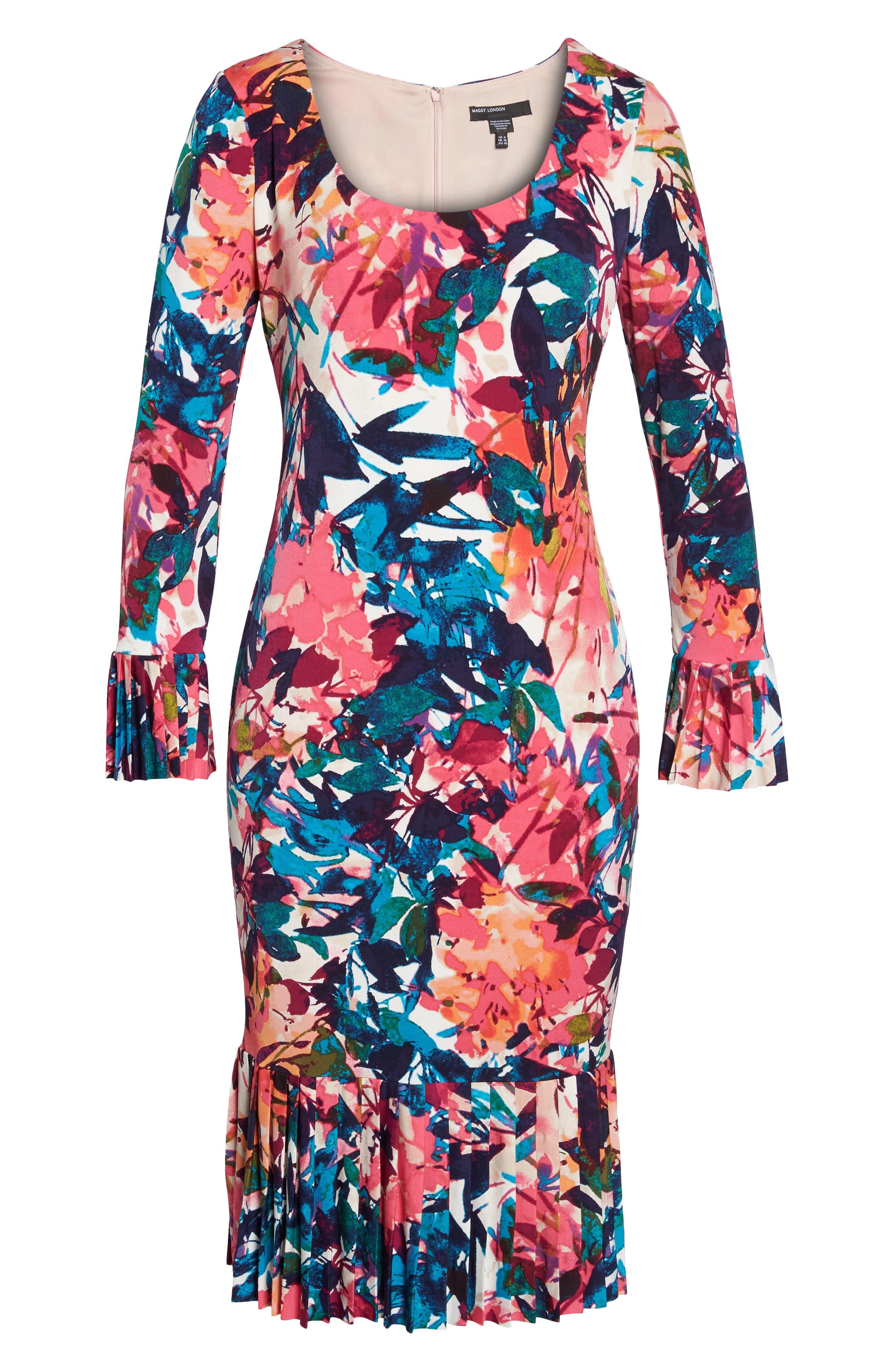 Midi Sheath Dress,                             Alternate thumbnail 6, color,                             692