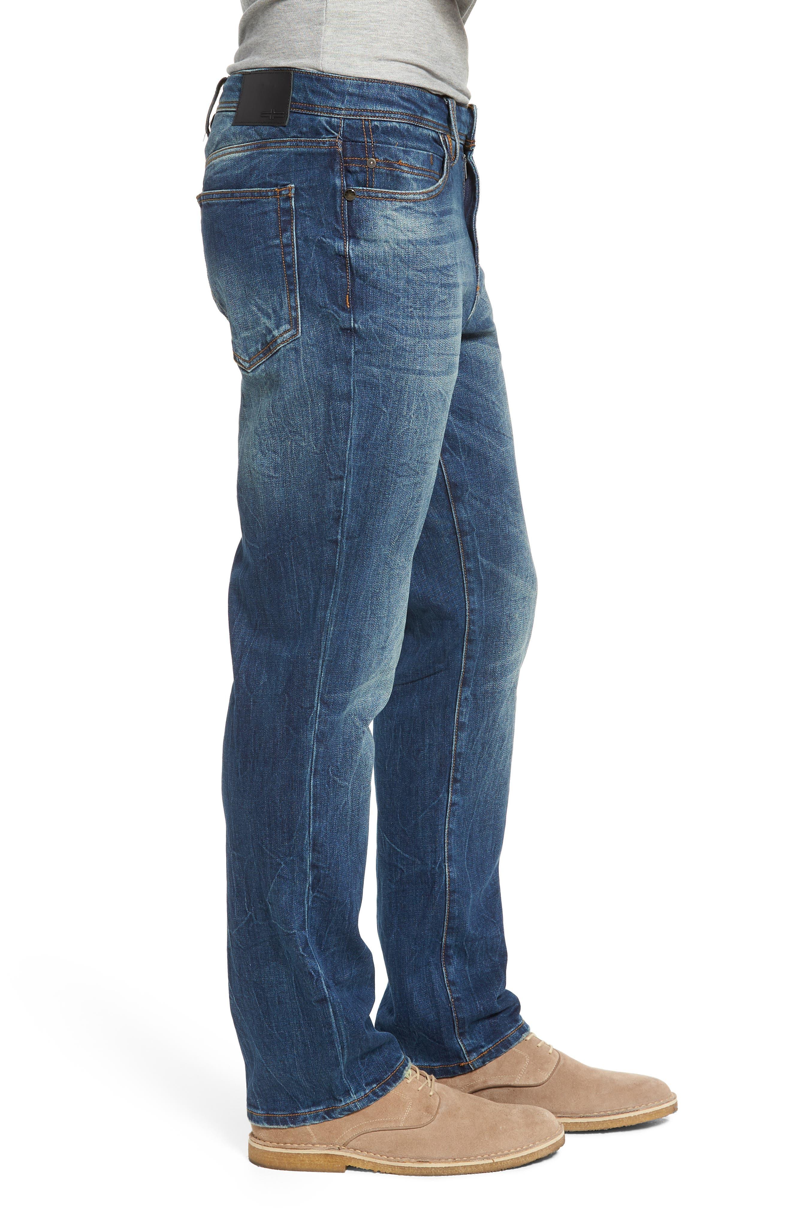 Jeans Co. Regent Relaxed Fit Jeans,                             Alternate thumbnail 3, color,                             ODESSA VINTAGE MEDIUM
