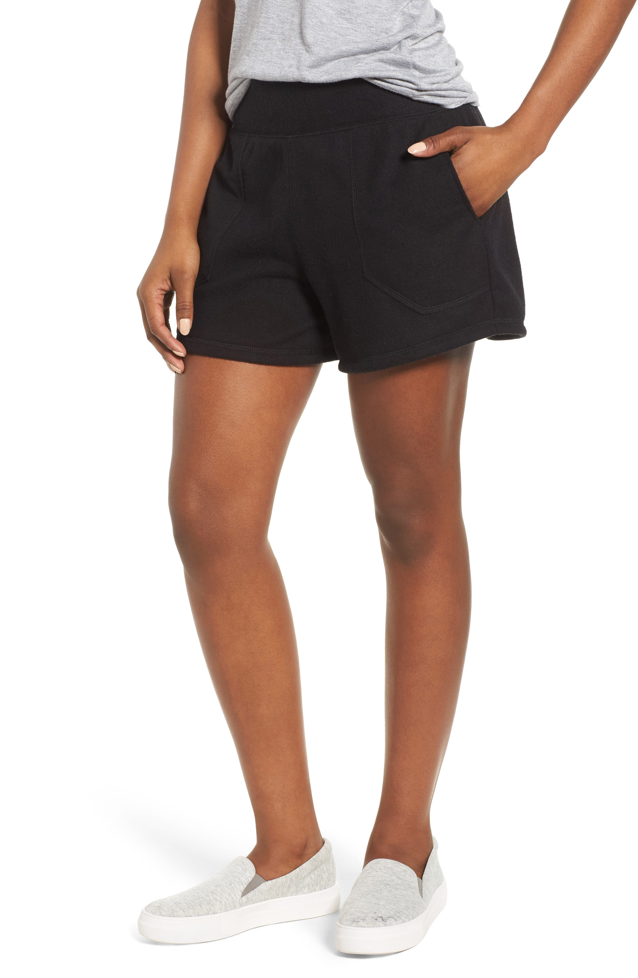 Off-Duty French Terry Shorts,                             Main thumbnail 2, color,
