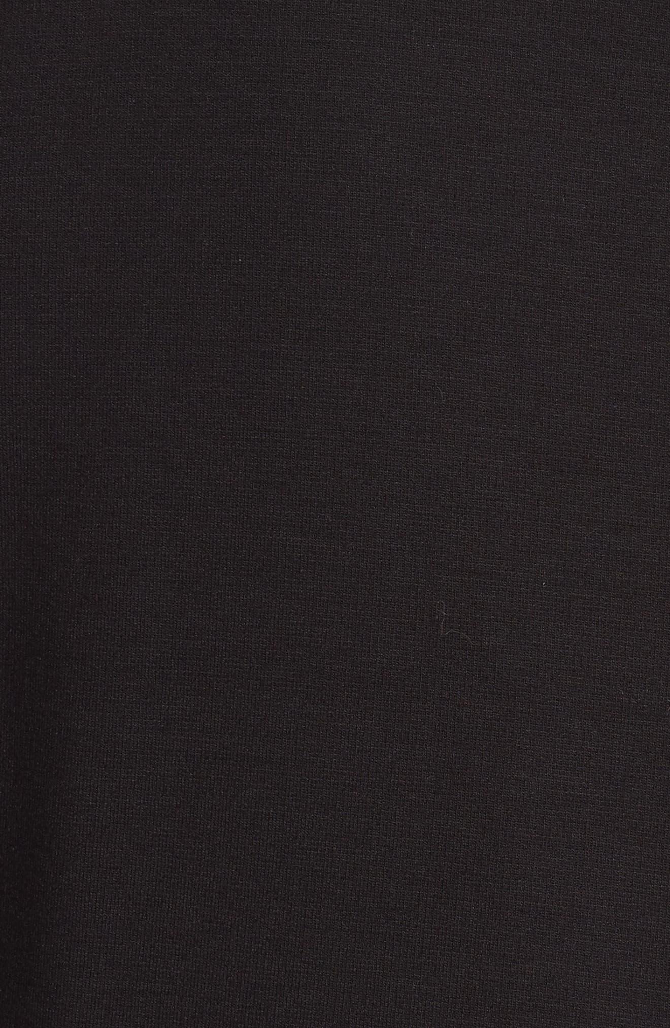Studio Asymmetrical Zip Jacket,                             Alternate thumbnail 5, color,                             004