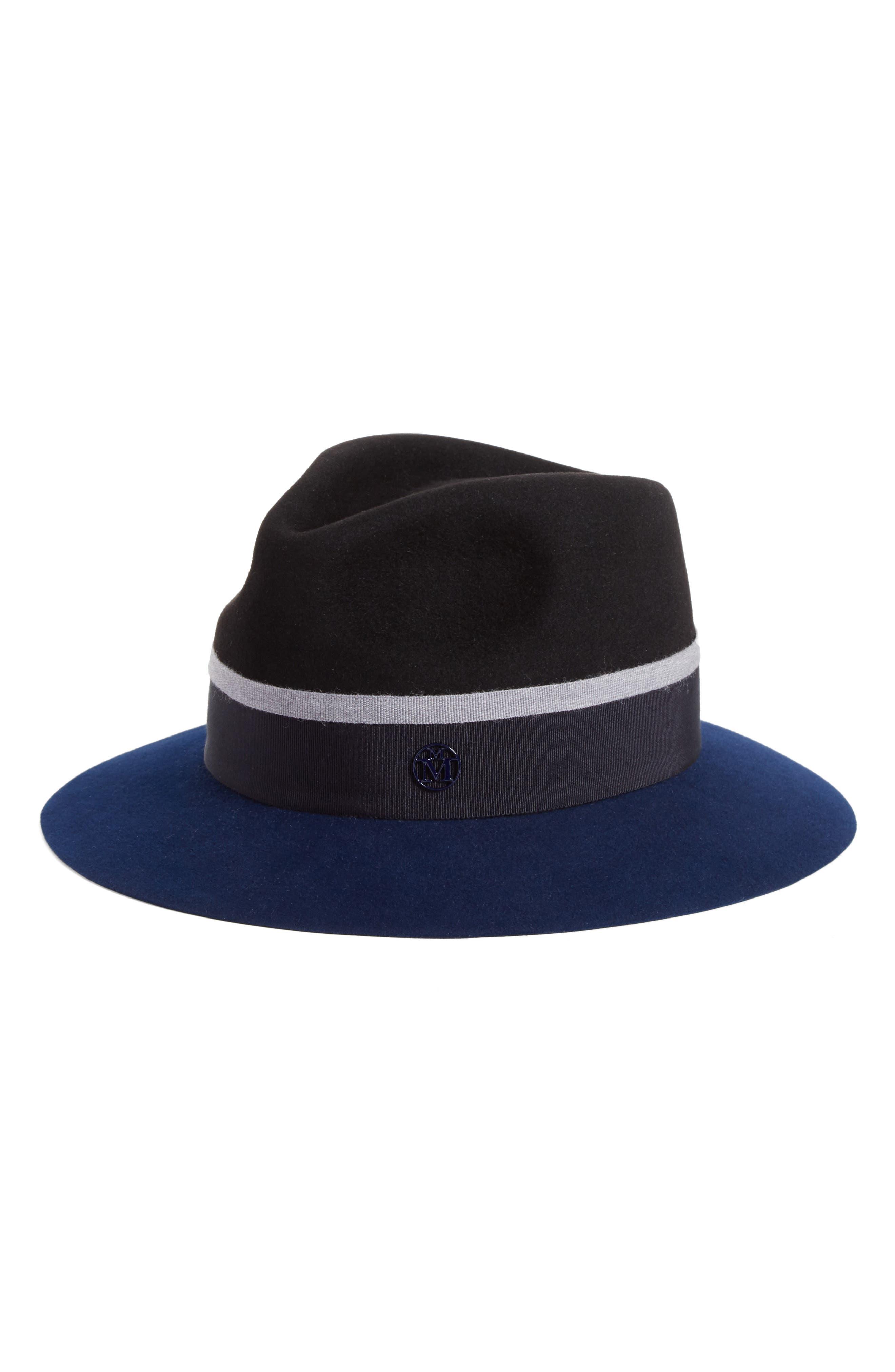 Rico Fur Felt Hat,                             Main thumbnail 1, color,                             001