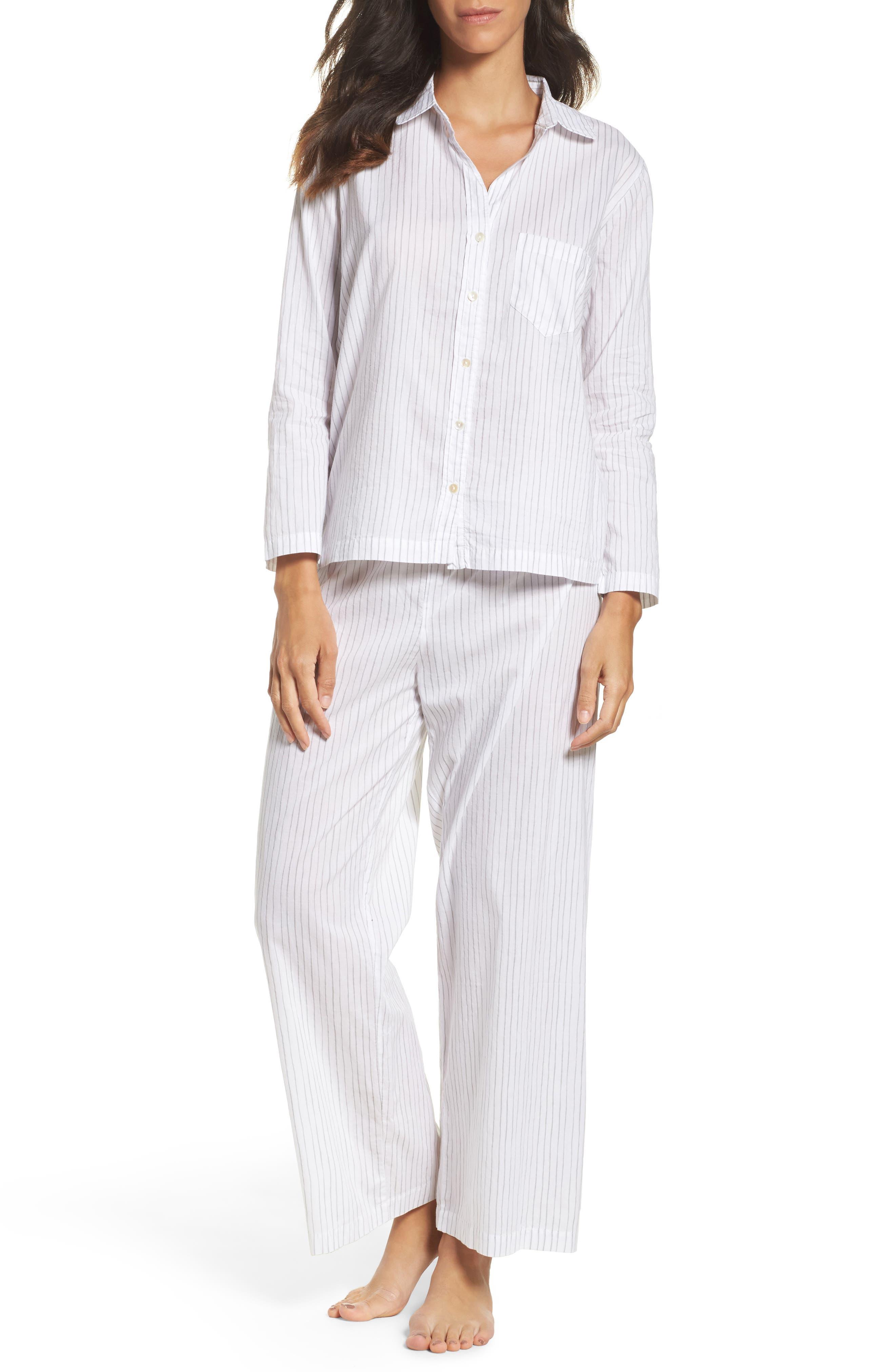 Pinstripe Pajamas,                             Main thumbnail 1, color,
