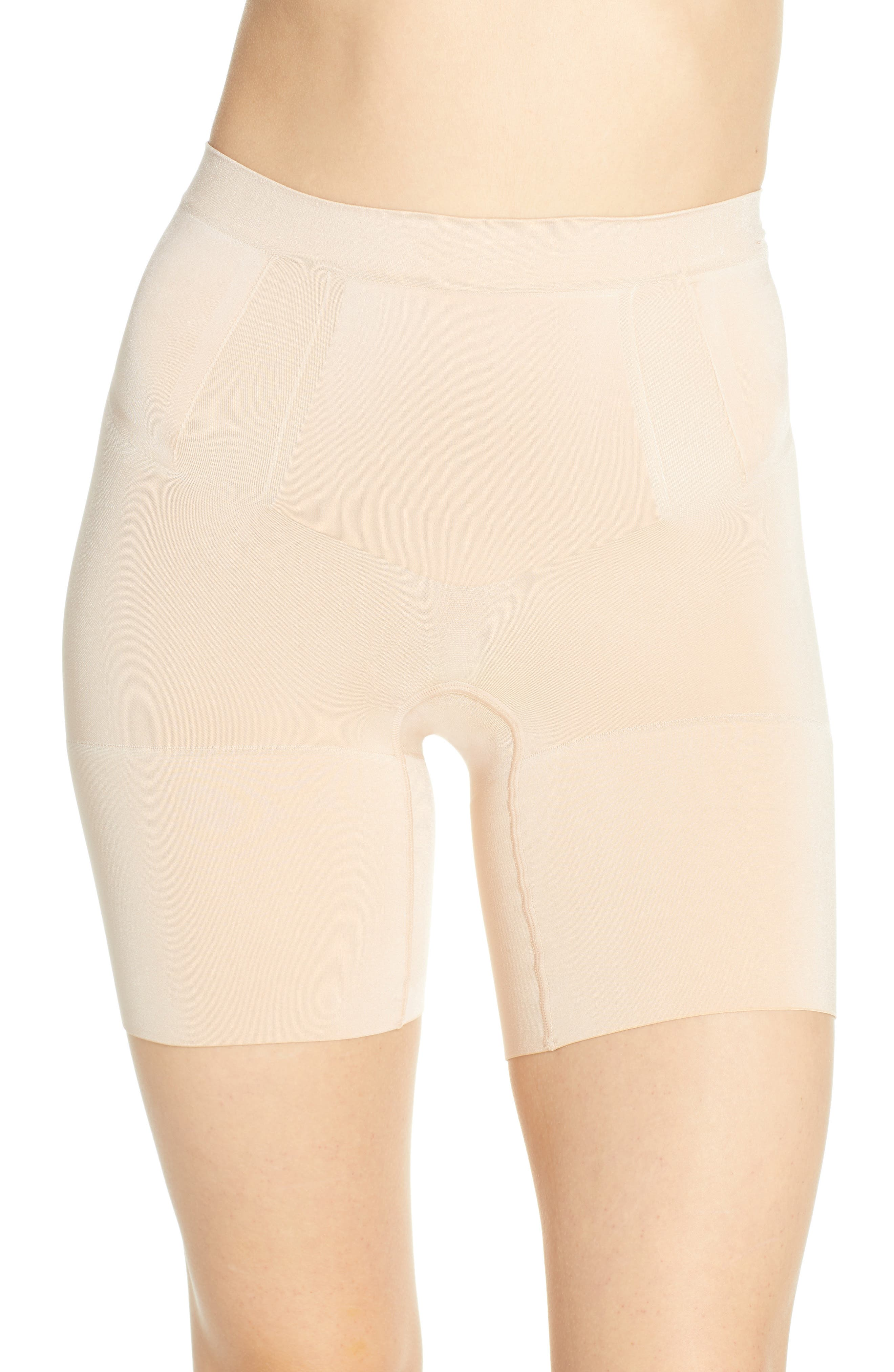 01ee19925b UPC 843953275893 - Spanx OnCore Mid-Thigh Shaping Shorts  SS6615 ...
