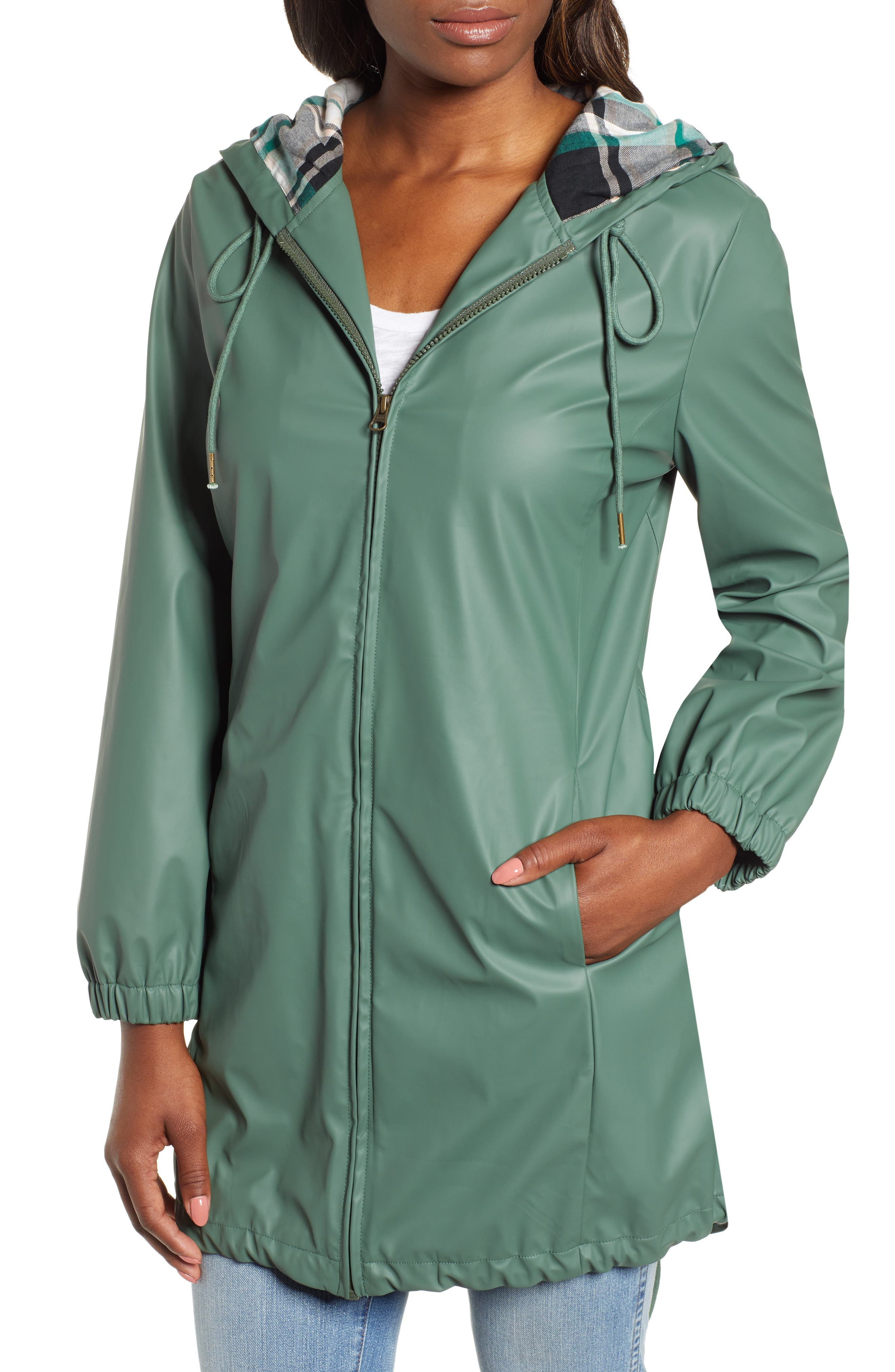 Hooded Rain Jacket,                             Alternate thumbnail 4, color,                             310