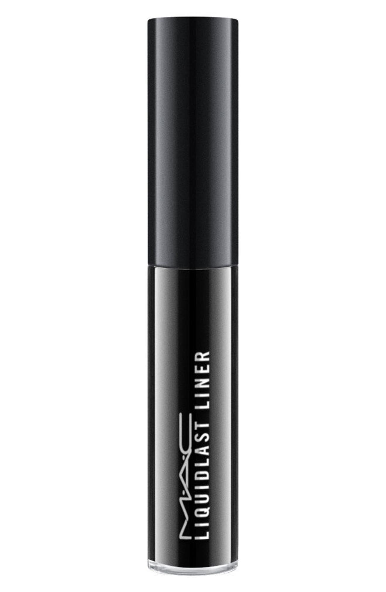 MAC Liquidlast Liner,                             Alternate thumbnail 2, color,                             POINT BLACK