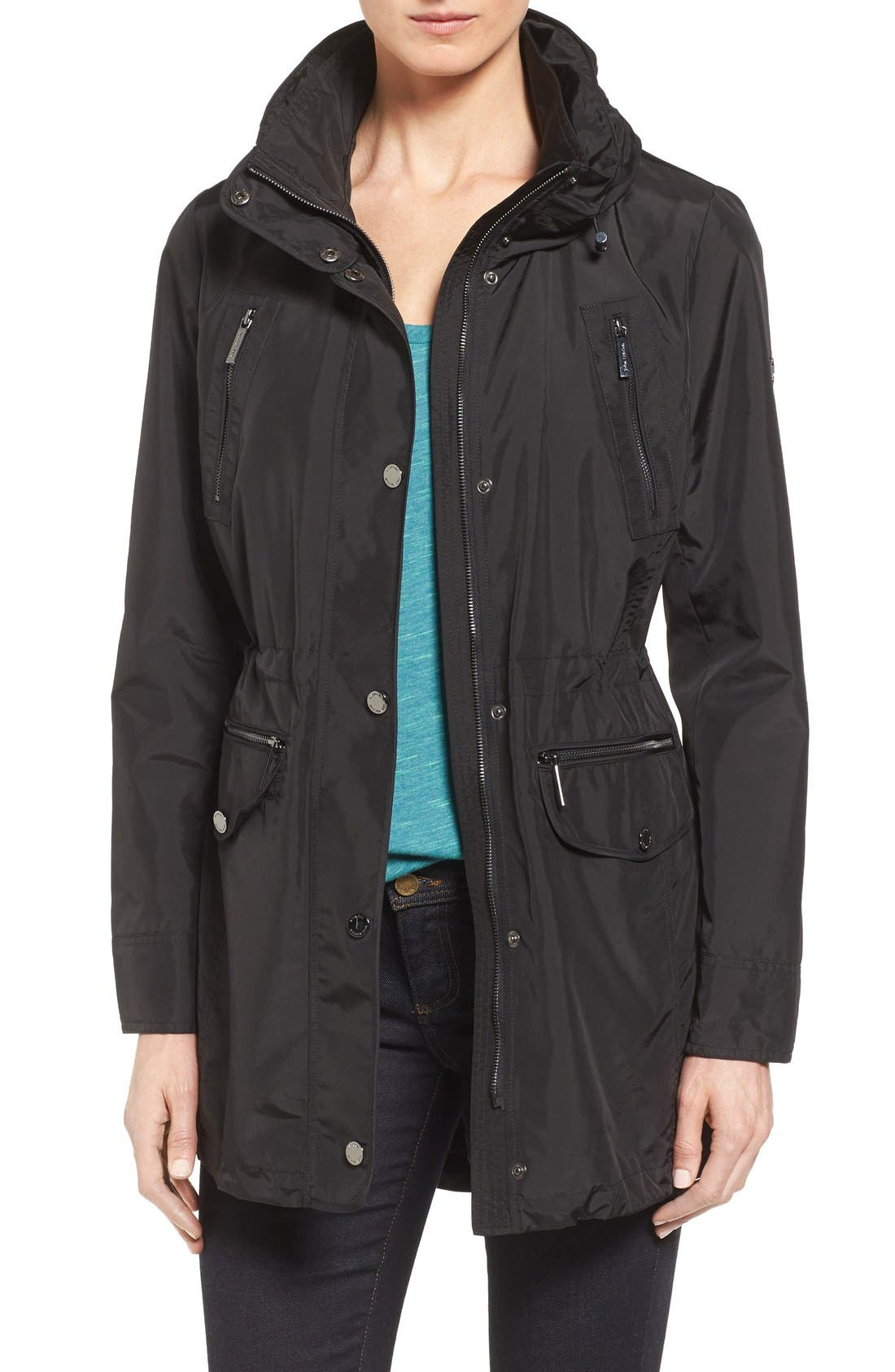 Hooded Anorak,                         Main,                         color, 001