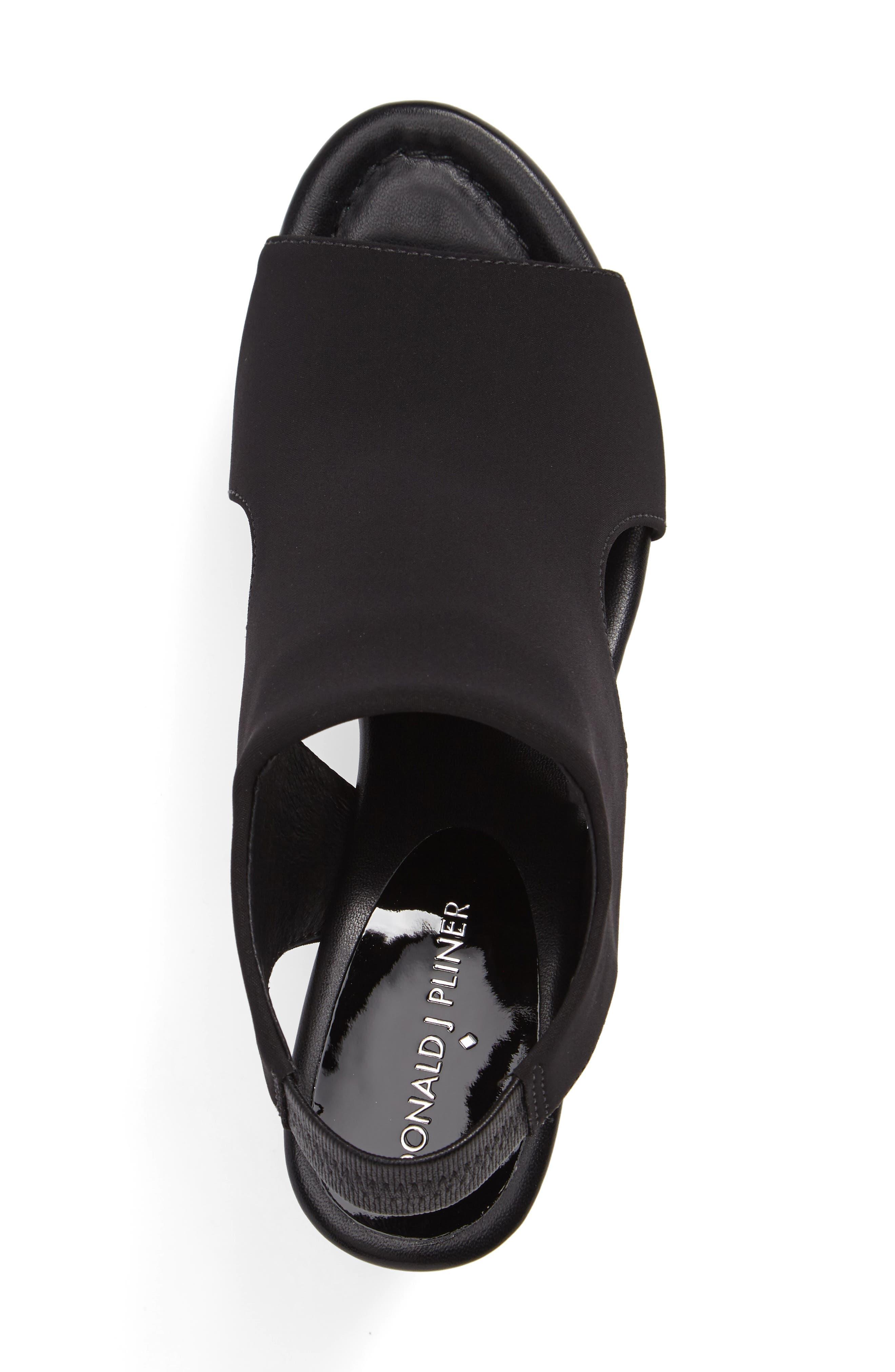 Donald J Pliner Fonda Platform Wedge Sandal,                             Alternate thumbnail 3, color,                             001