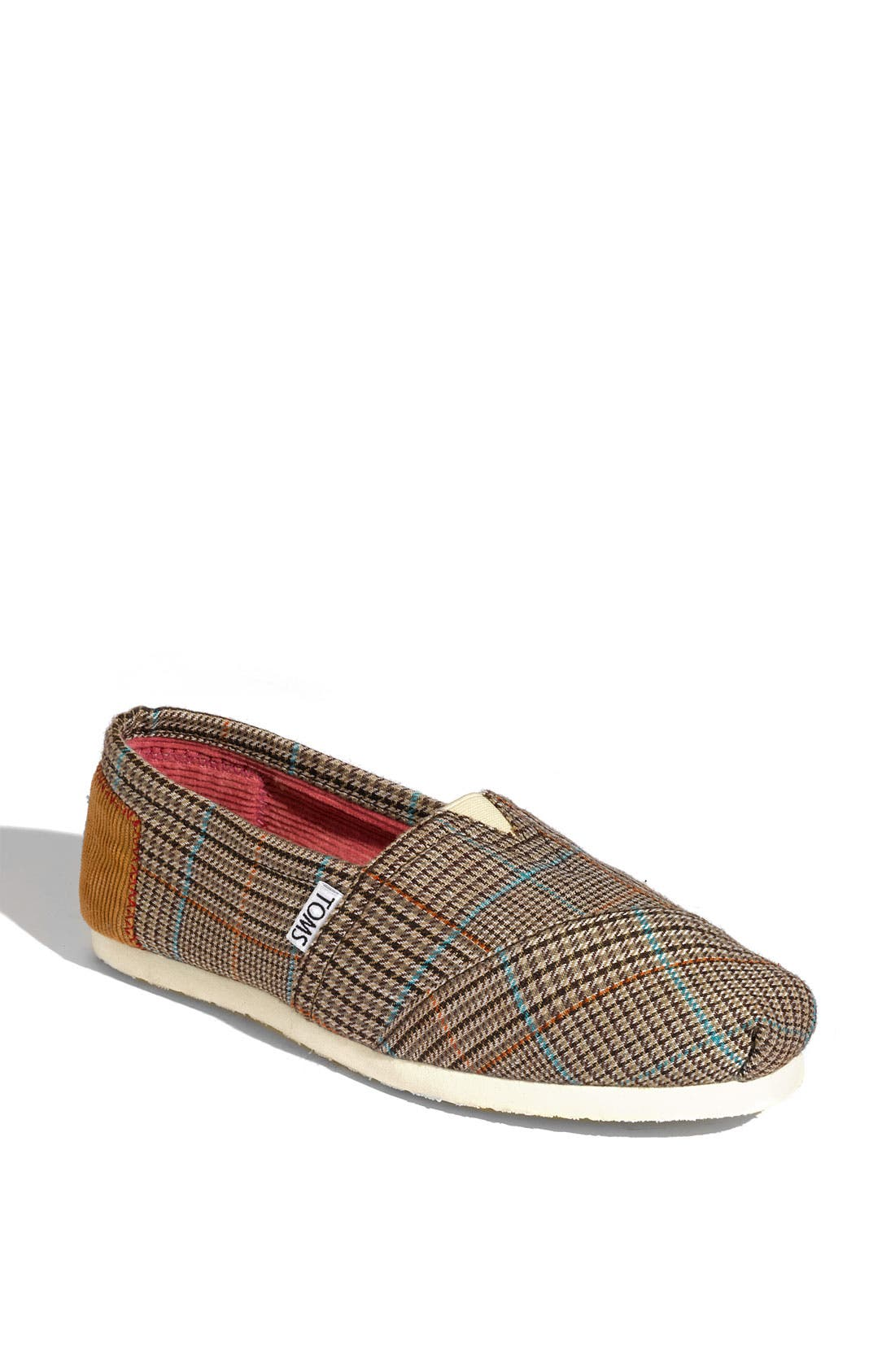 'Classic - Academy Plaid' Slip-On,                             Main thumbnail 1, color,                             200