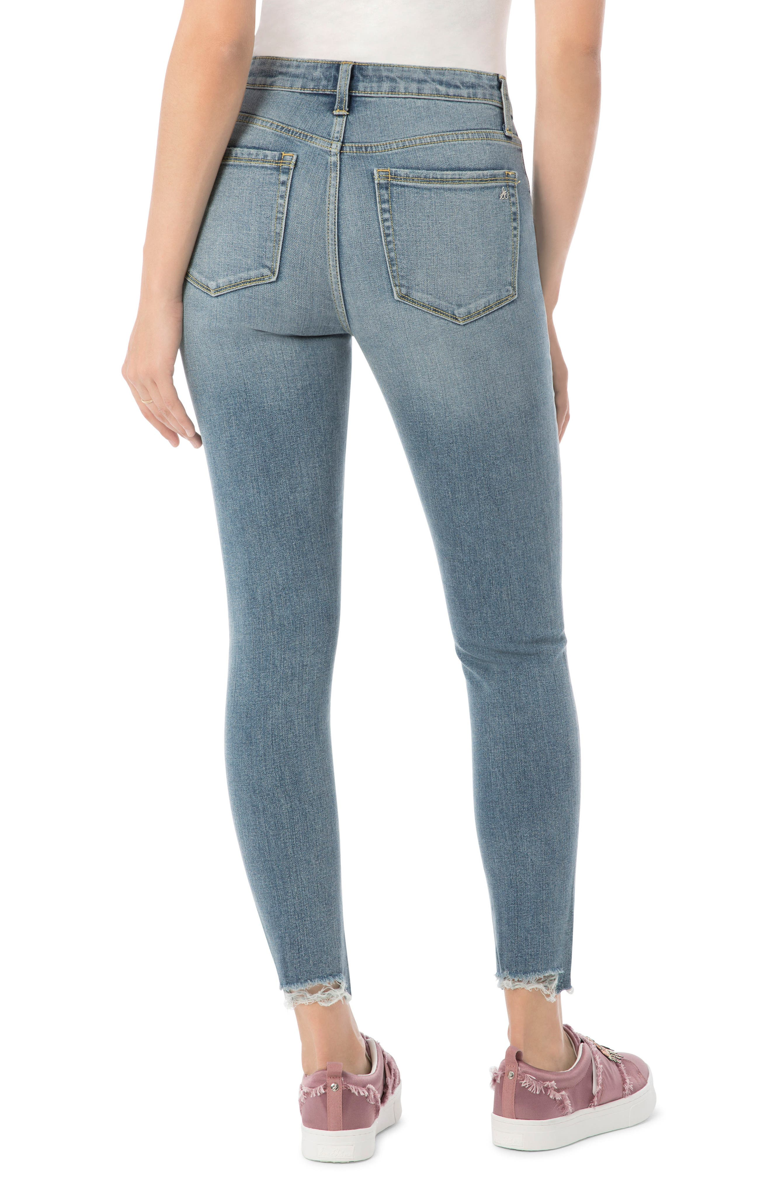The Stilletto Skinny High-Waist Jeans,                             Alternate thumbnail 2, color,                             419