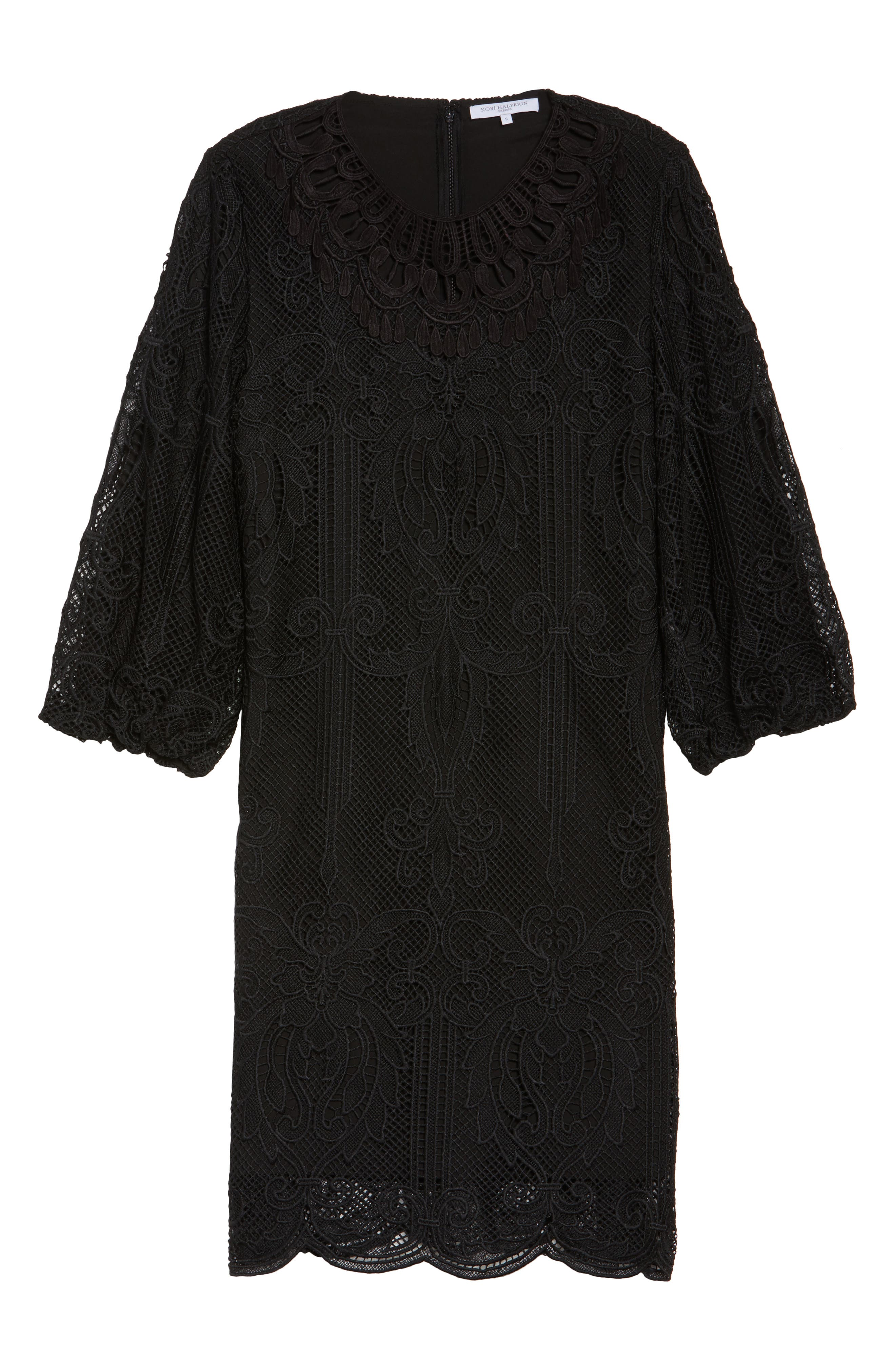 Kandace Lace Shift Dress,                             Alternate thumbnail 11, color,