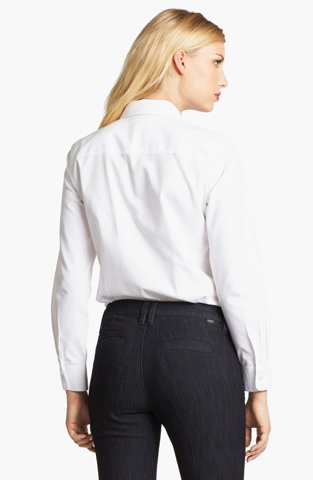 Long Sleeve Shirt,                             Alternate thumbnail 3, color,                             100