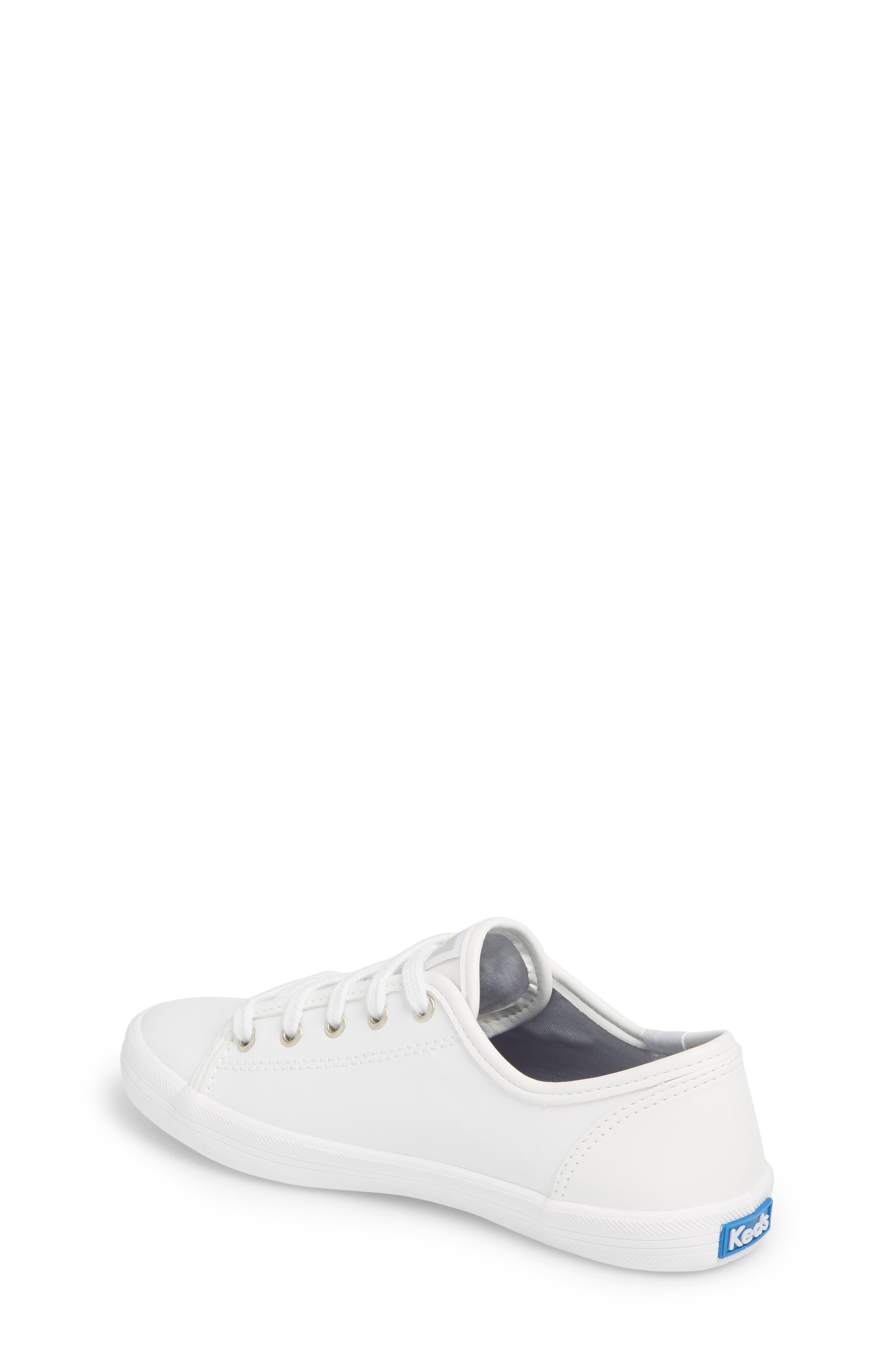Kickstart Sneaker,                             Alternate thumbnail 2, color,                             WHITE
