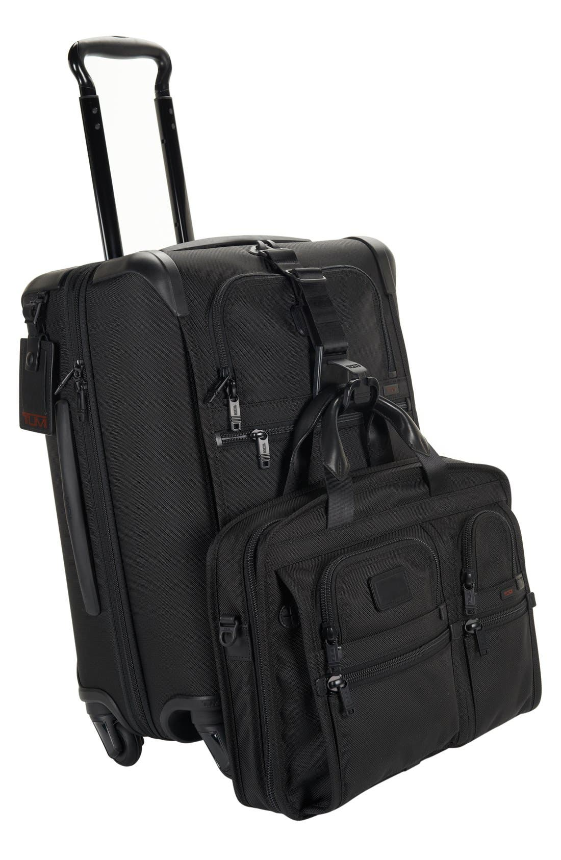 Alpha 2 Continental 22-Inch Carry-On,                             Alternate thumbnail 8, color,                             BLACK
