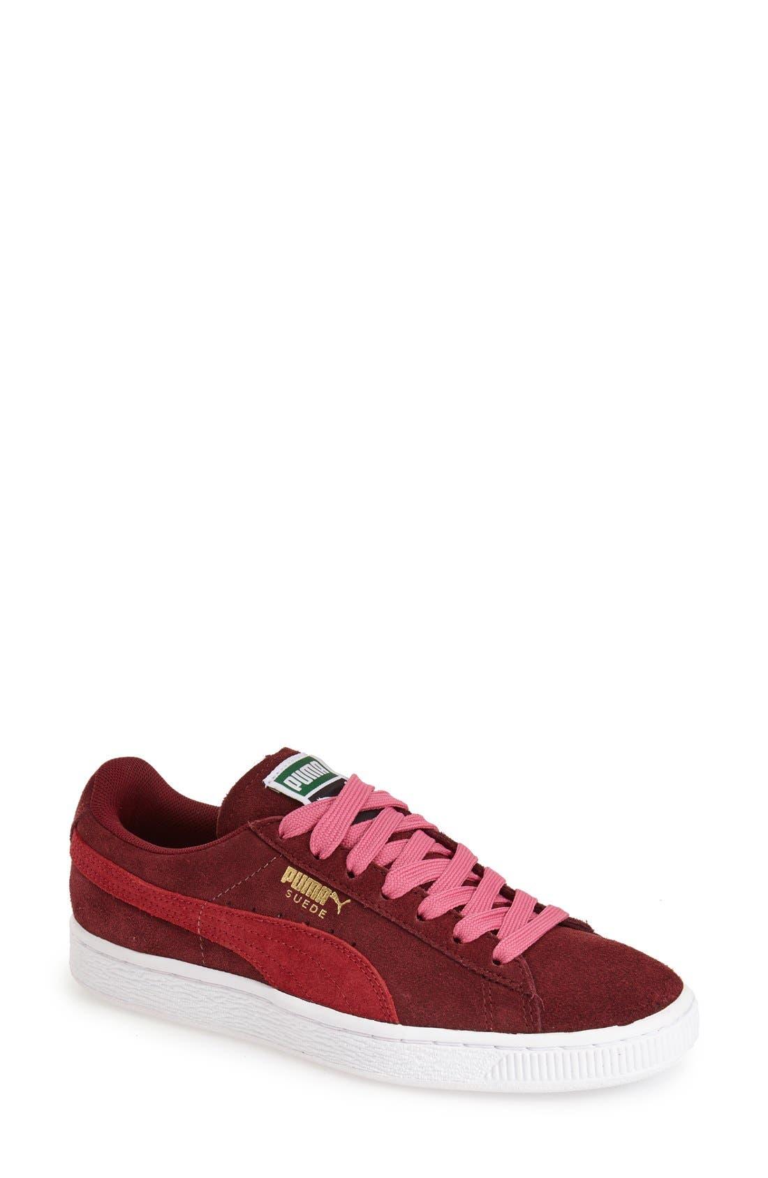 Suede Sneaker,                             Main thumbnail 23, color,
