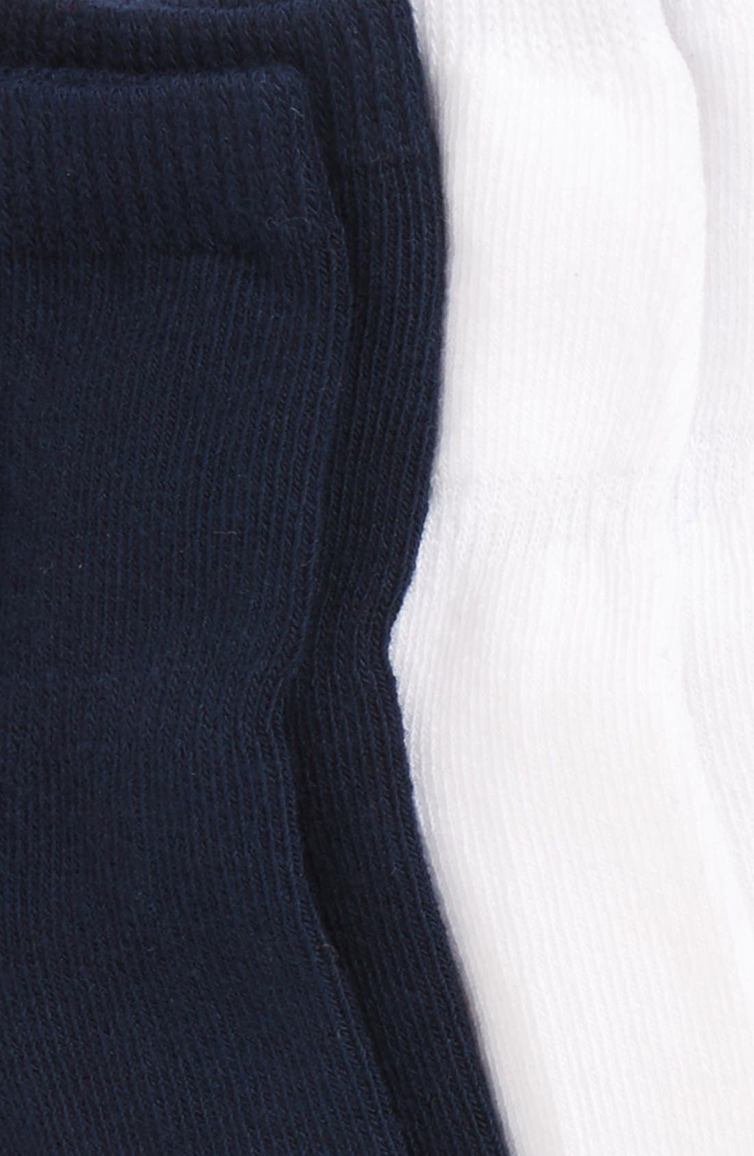 6-Pack Ankle Socks,                             Alternate thumbnail 2, color,                             NAVY