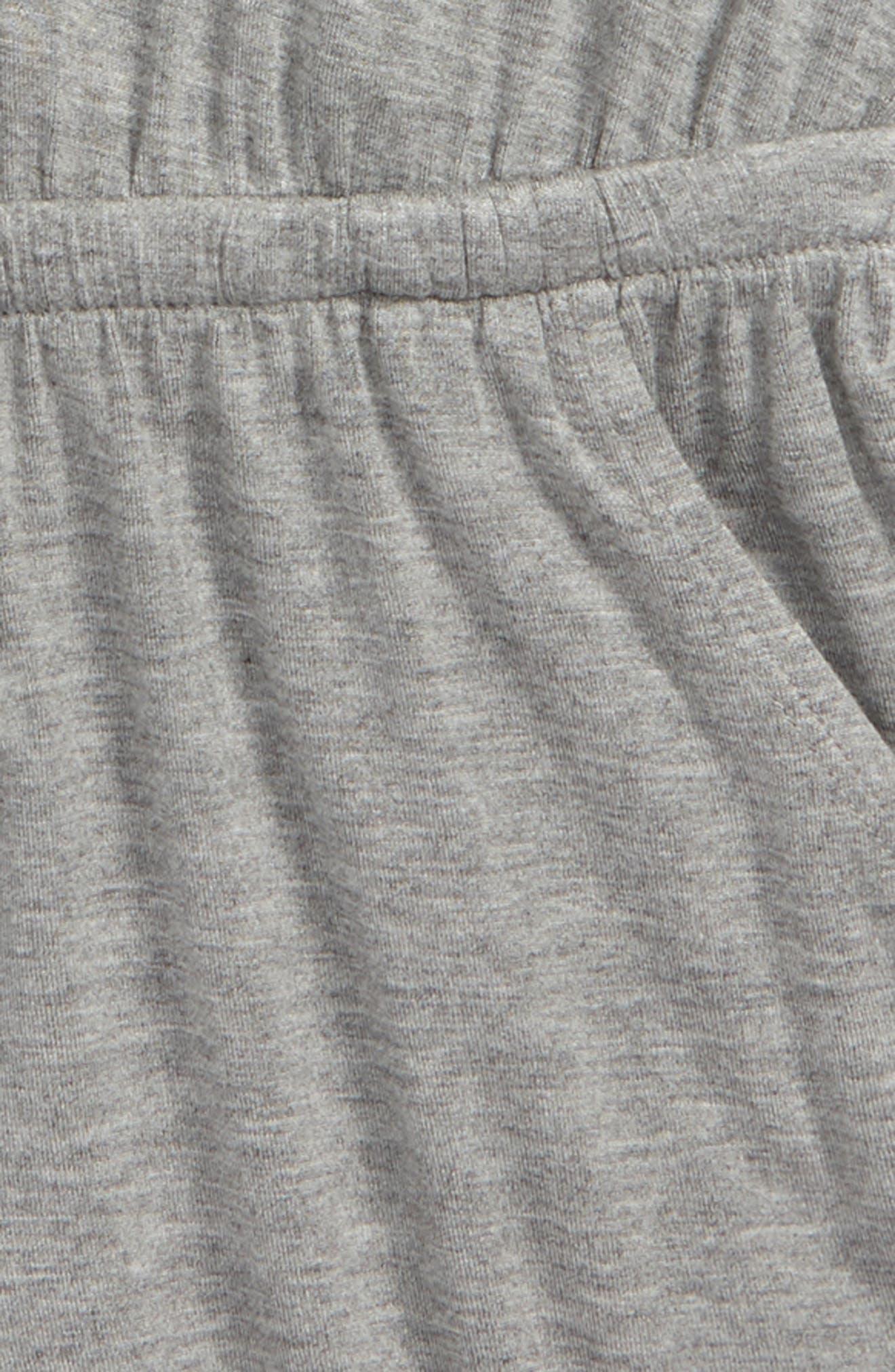 Cutout Cold Shoulder Romper,                             Alternate thumbnail 3, color,                             030