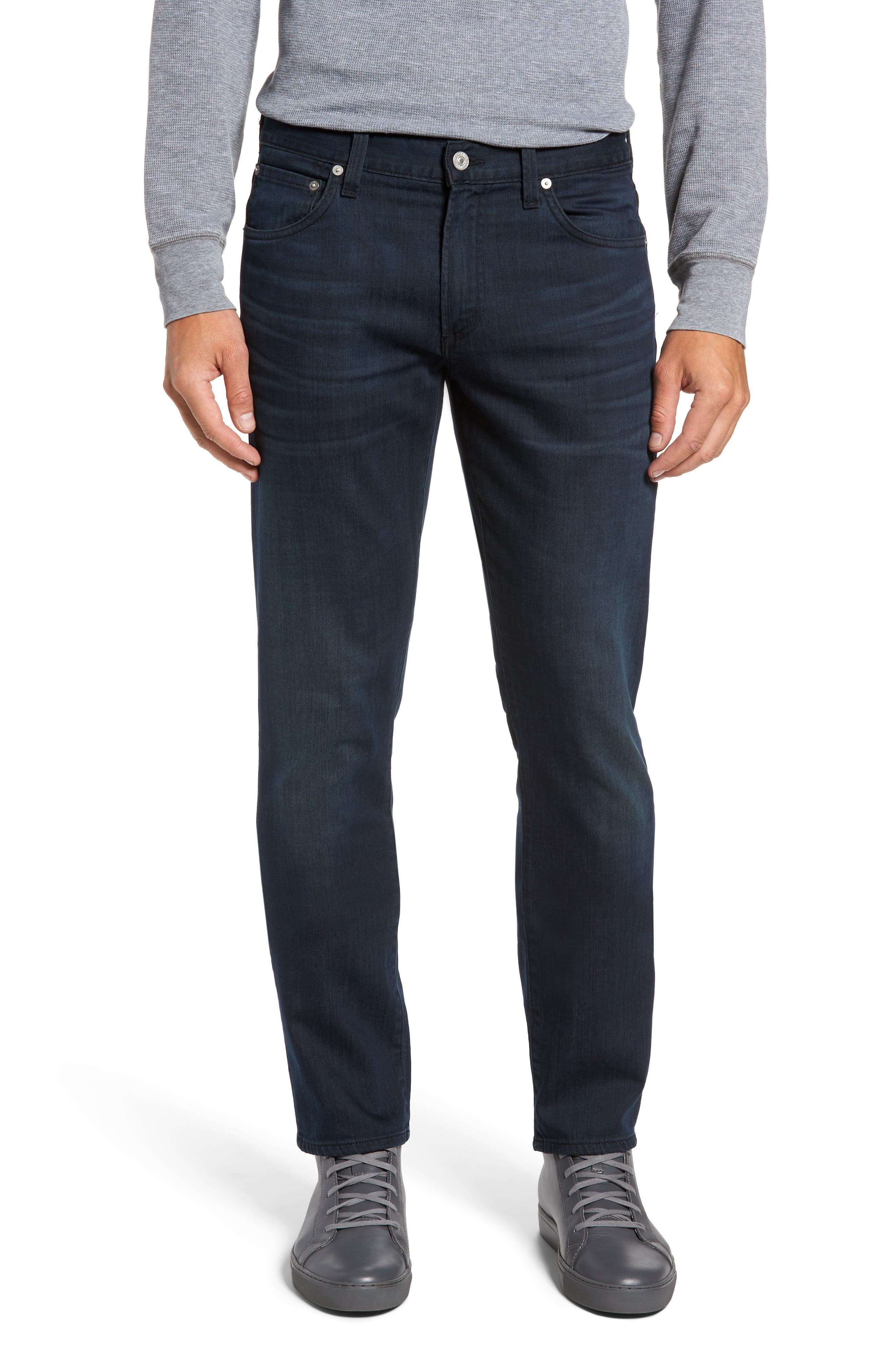 Gage Slim Straight Leg Jeans,                         Main,                         color, GUITAR