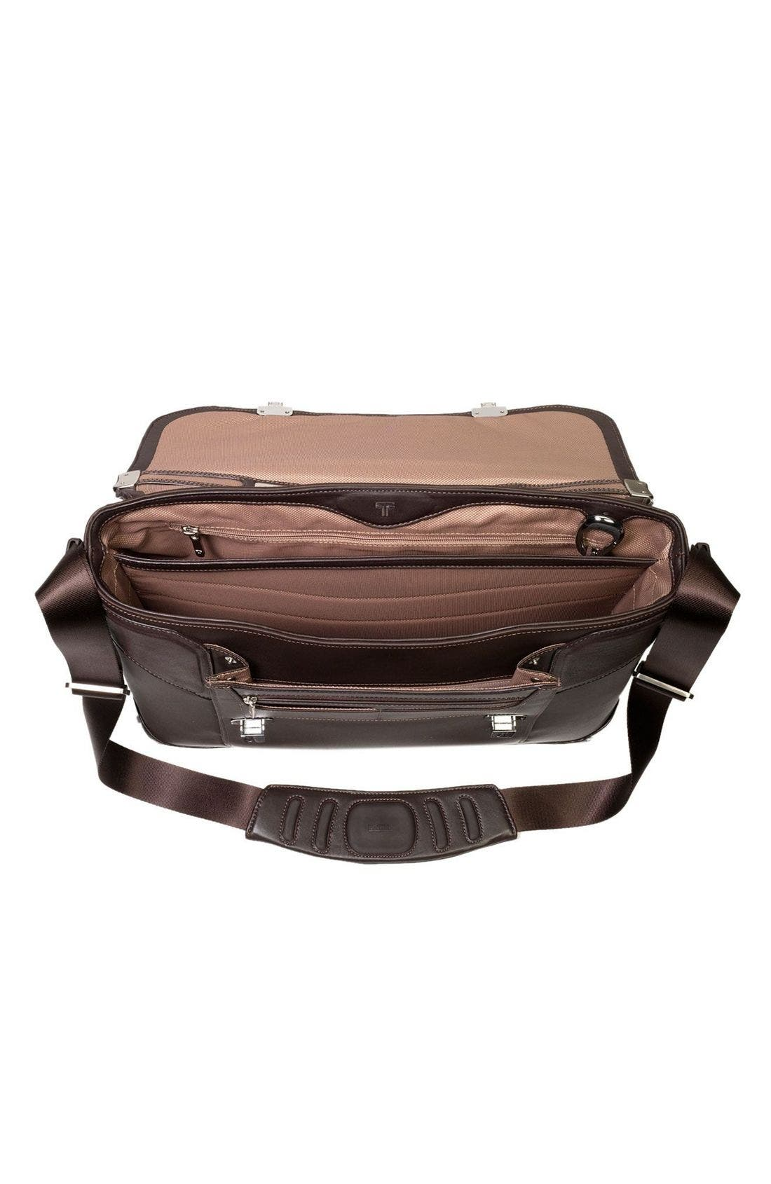 'Formula T' Briefcase with Dividers,                             Alternate thumbnail 4, color,