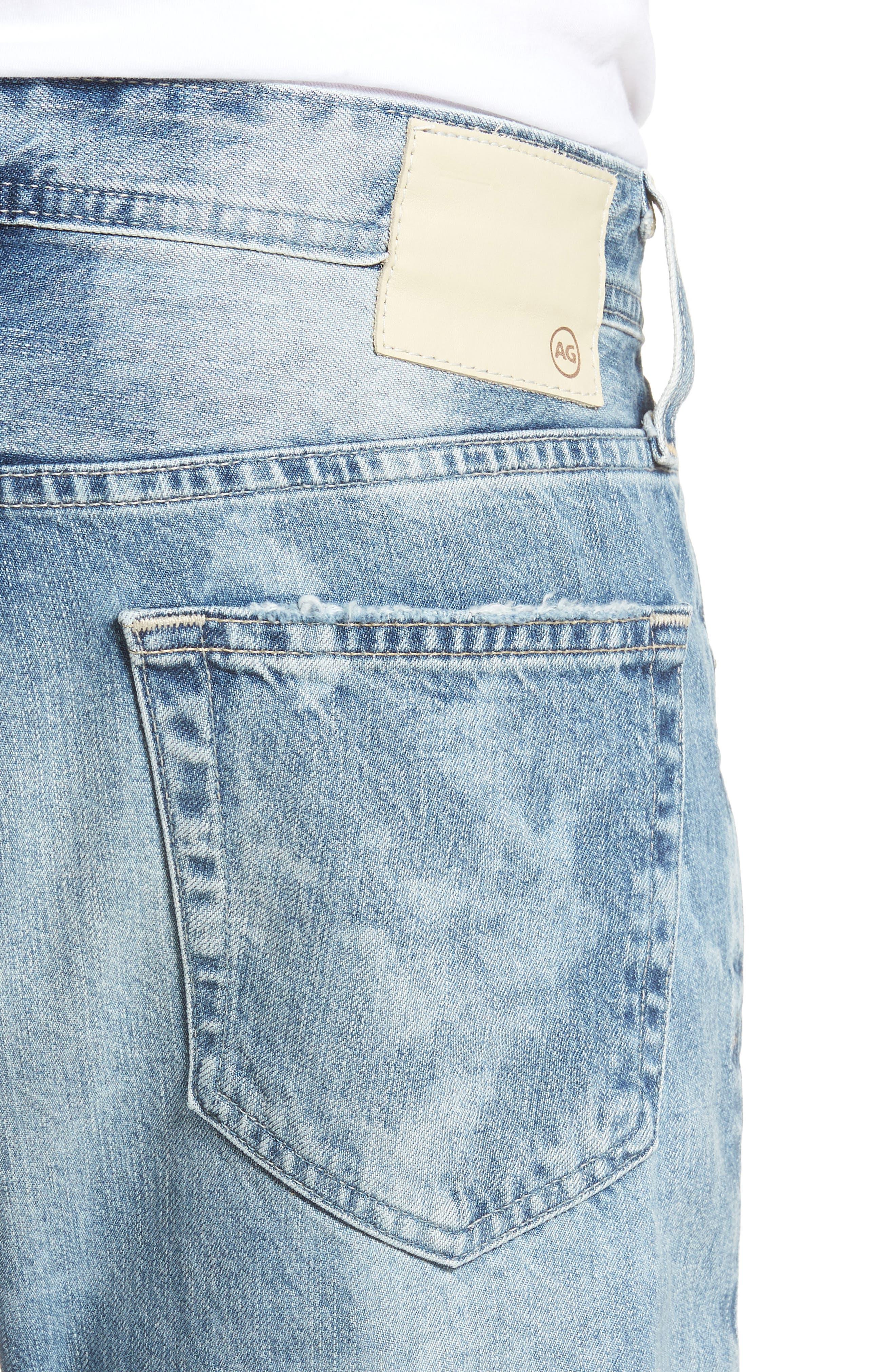 Tellis Slim Fit Jeans,                             Alternate thumbnail 4, color,                             461