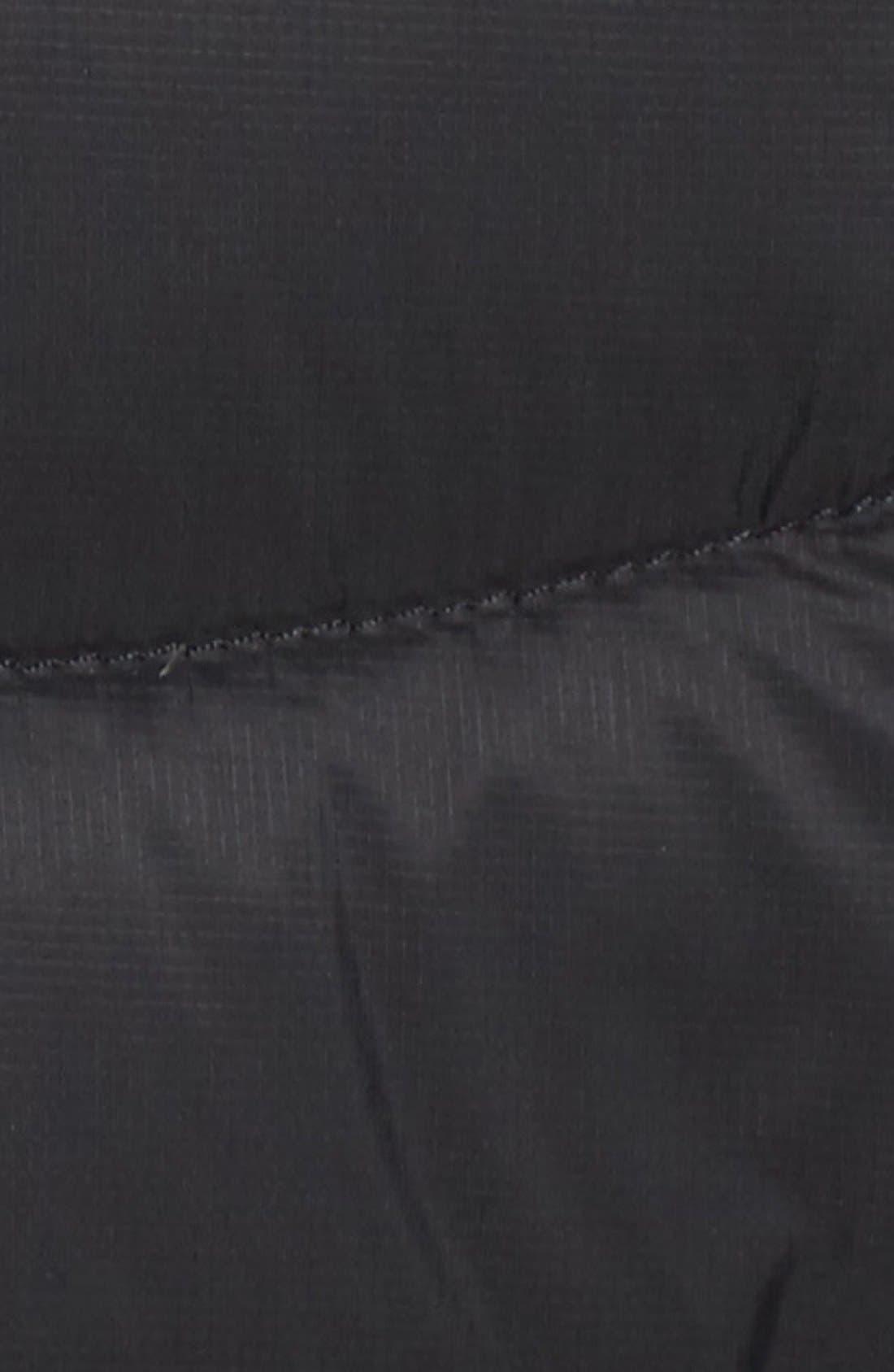'Jenae' Hooded Down Jacket,                             Alternate thumbnail 5, color,                             001