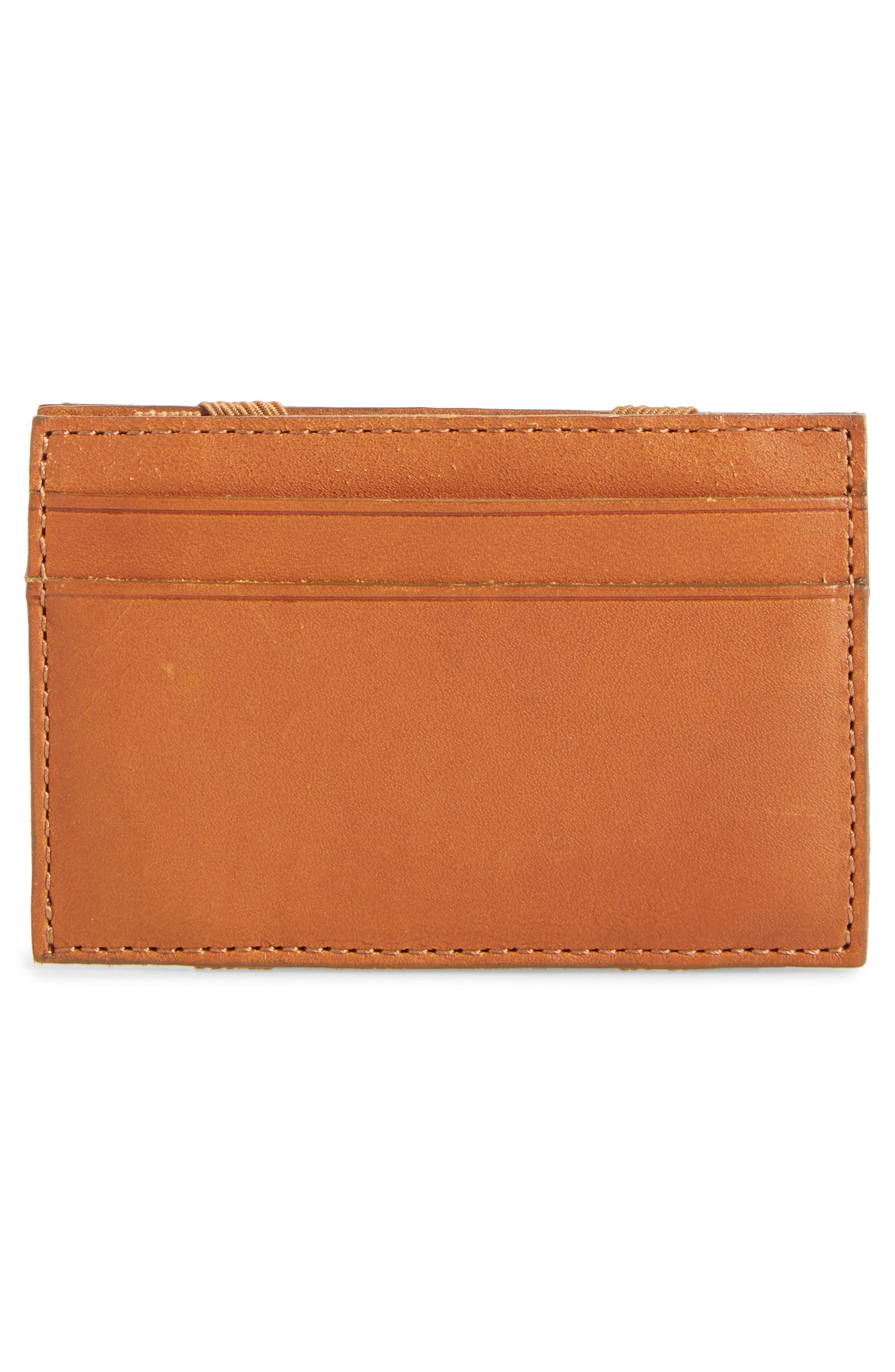 J.CREW,                             Magic Leather Wallet,                             Alternate thumbnail 3, color,                             200
