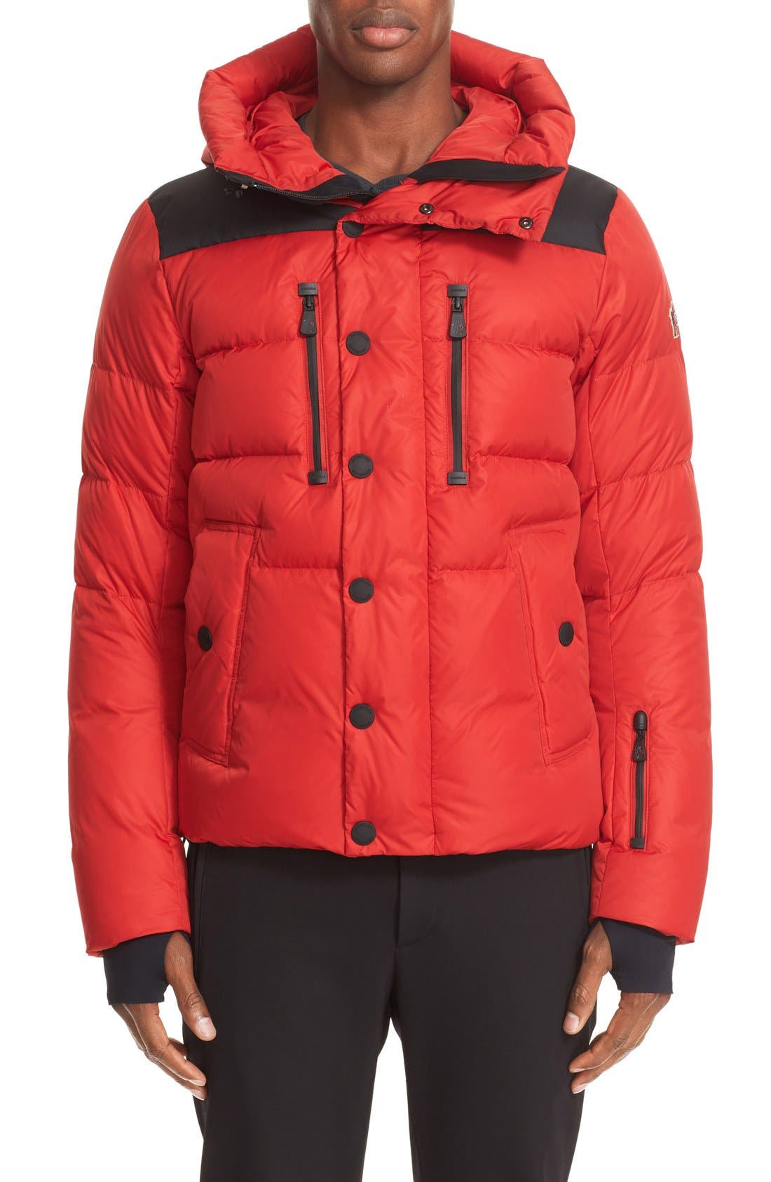 'Rodenberg' Water Resistant Down Jacket,                             Alternate thumbnail 4, color,                             611
