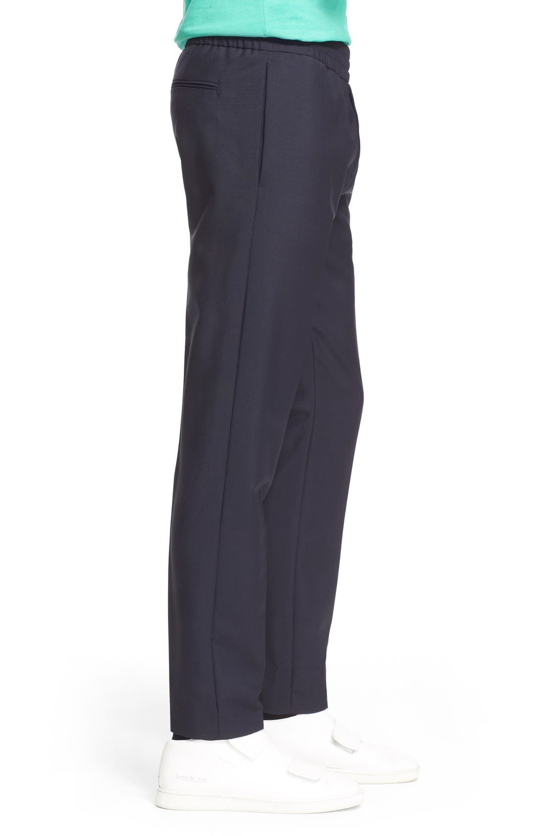 Ryder Wool Pants,                             Alternate thumbnail 2, color,                             NAVY
