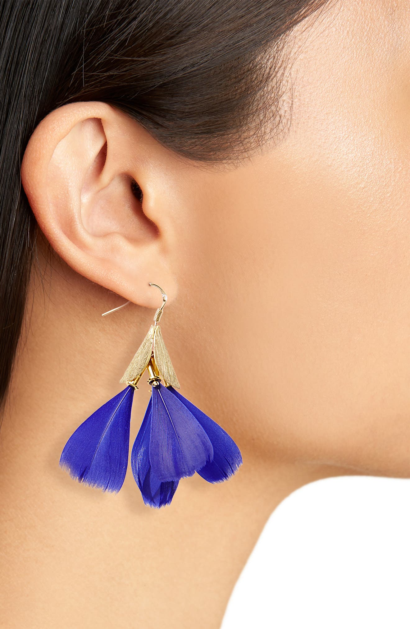 Dancing Feather Earrings,                             Alternate thumbnail 2, color,                             400