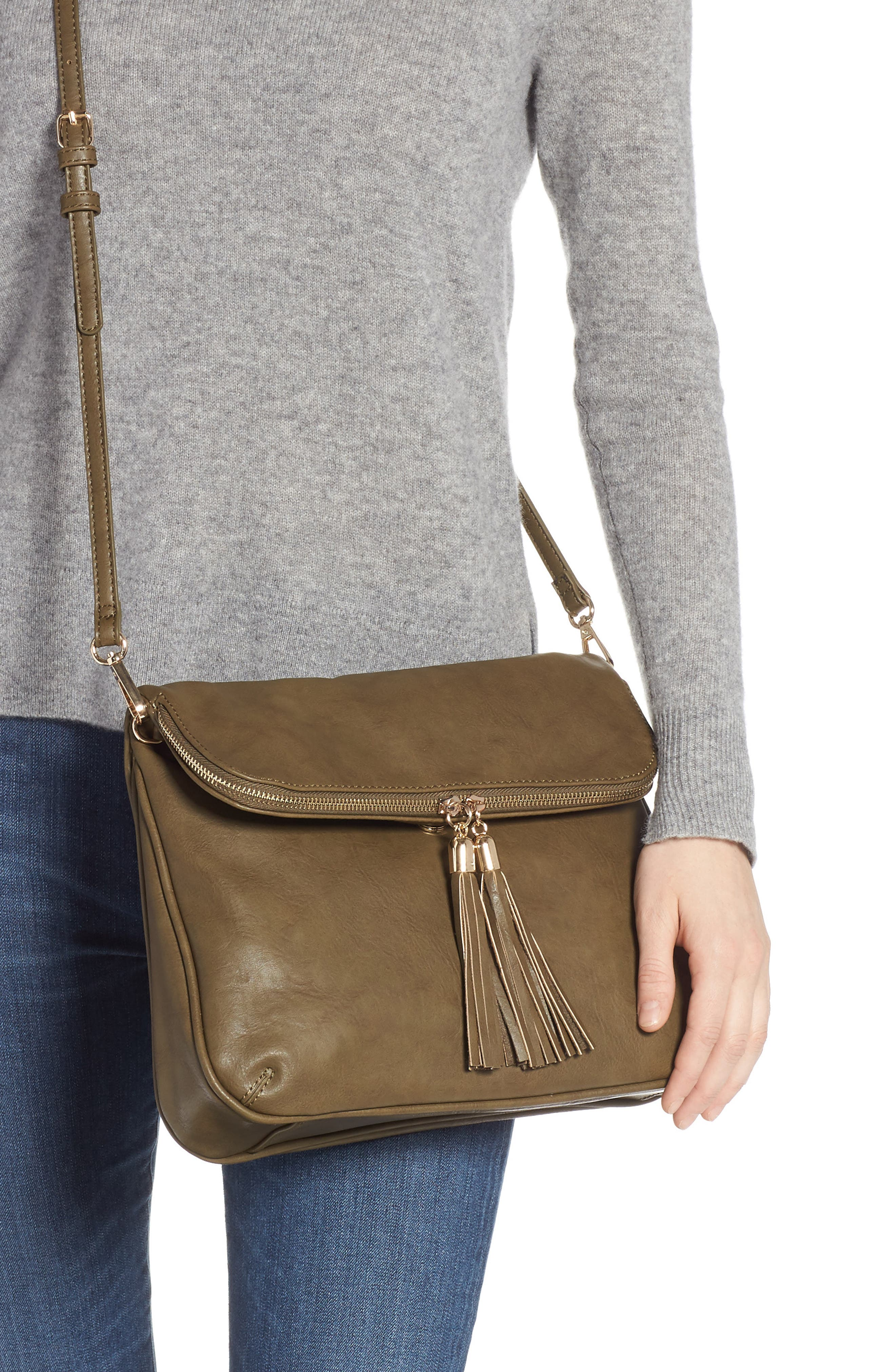 Foldover Crossbody Bag,                             Alternate thumbnail 2, color,                             320