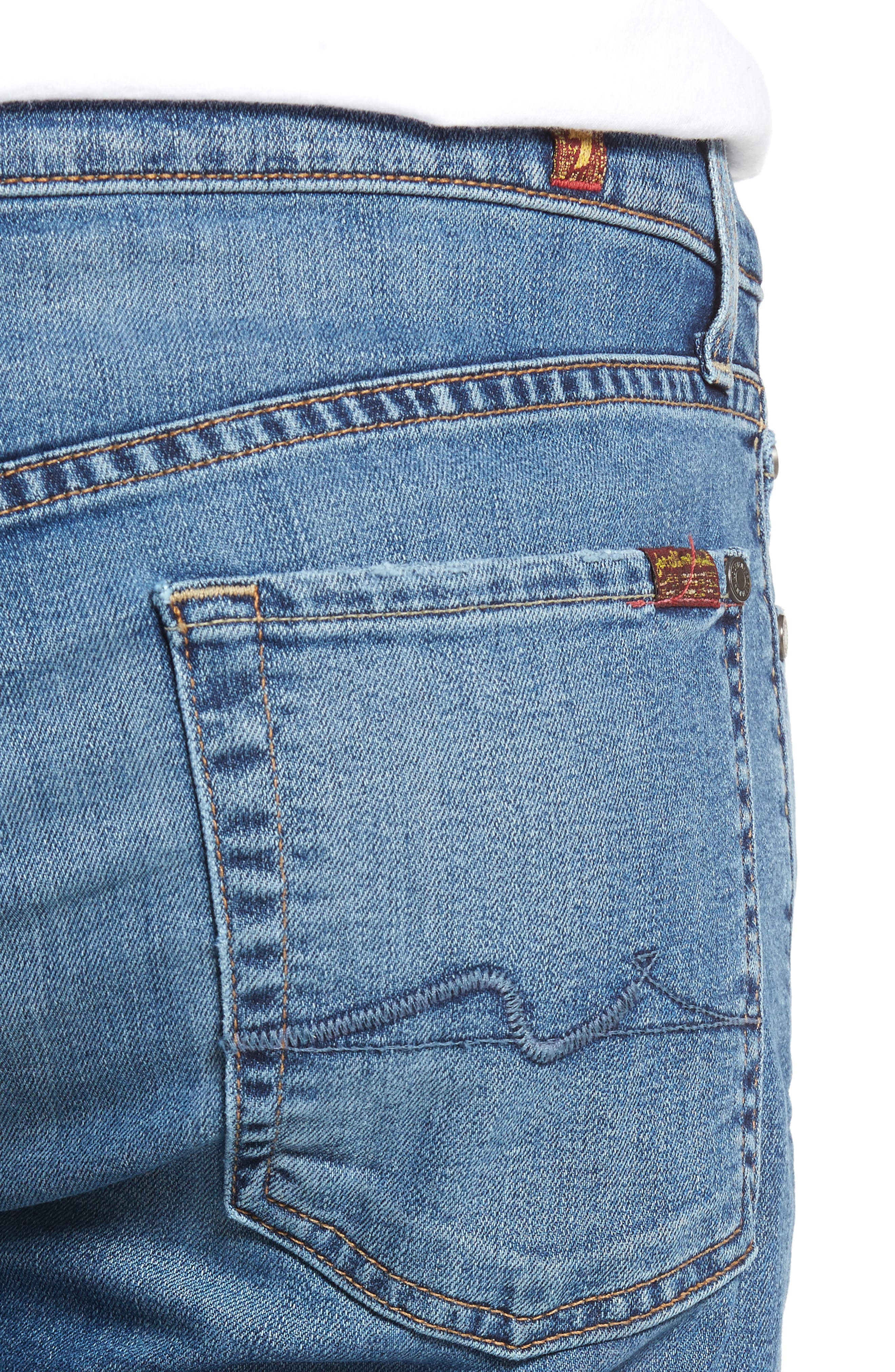Slimmy Slim Fit Jeans,                             Alternate thumbnail 4, color,                             405