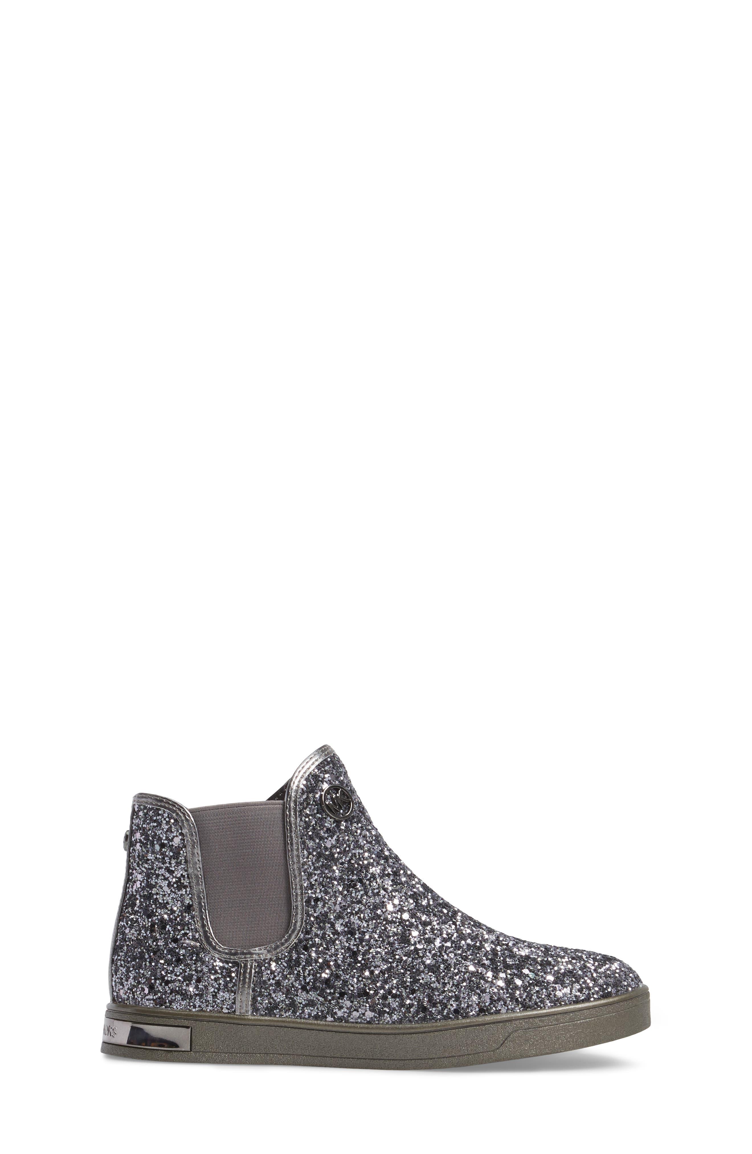 Ollie Rae Glittery Sneaker Boot,                             Alternate thumbnail 3, color,                             040