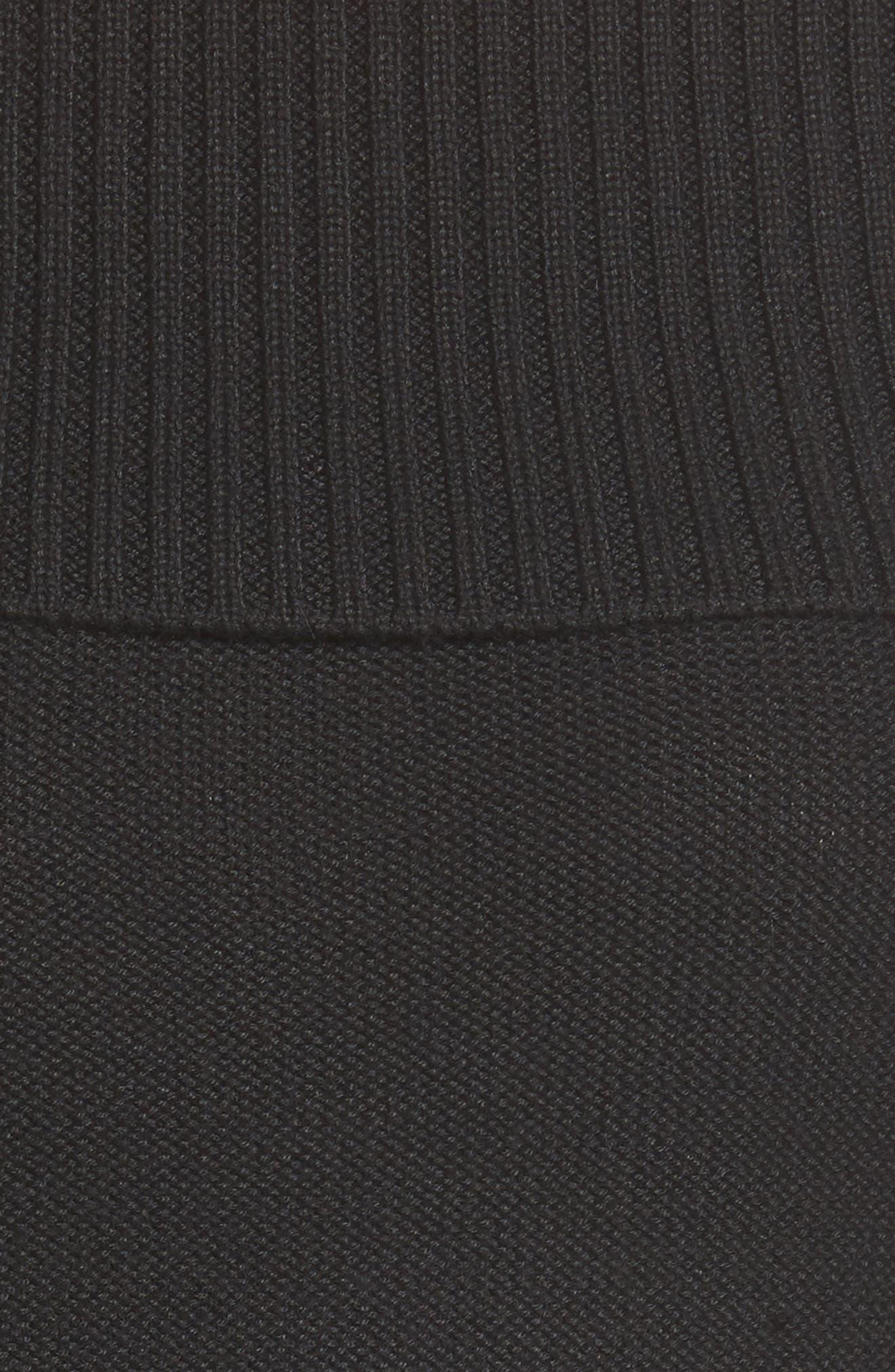 Terri Off the Shoulder Sweater,                             Alternate thumbnail 5, color,                             001