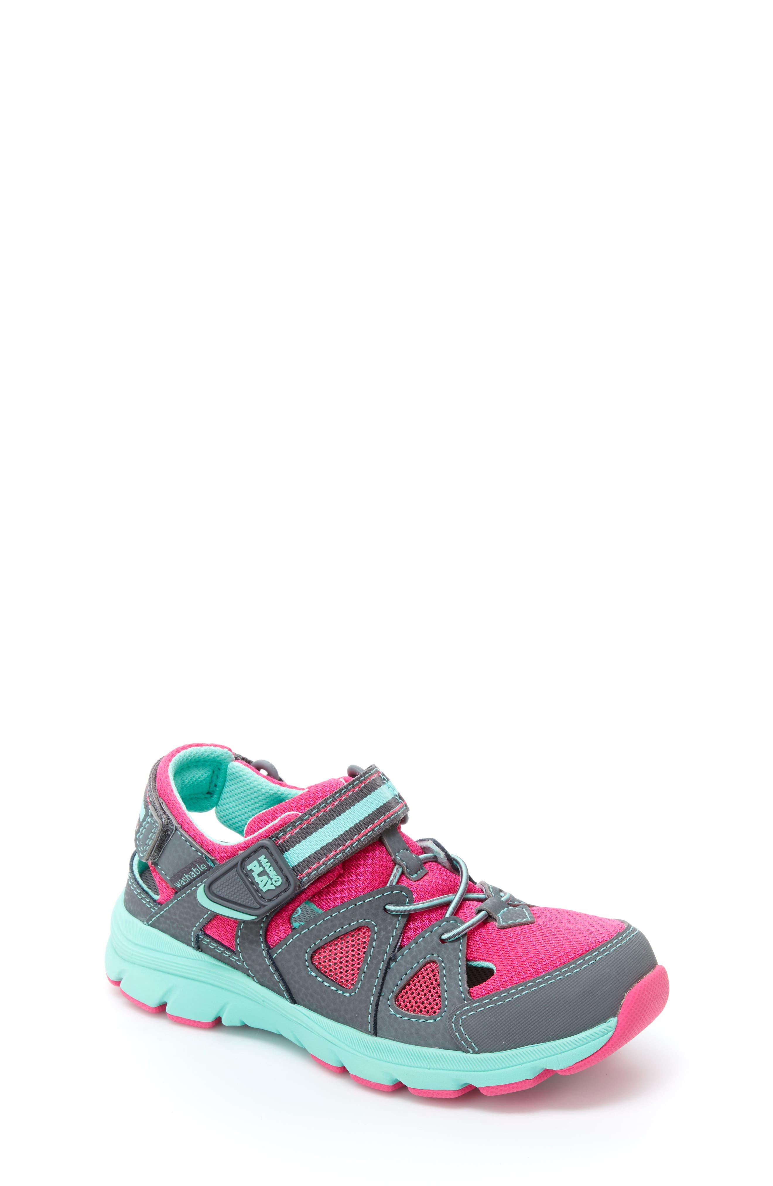 STRIDE RITE,                             Made2Play<sup>®</sup> Ryder Washable Sneaker,                             Main thumbnail 1, color,                             020