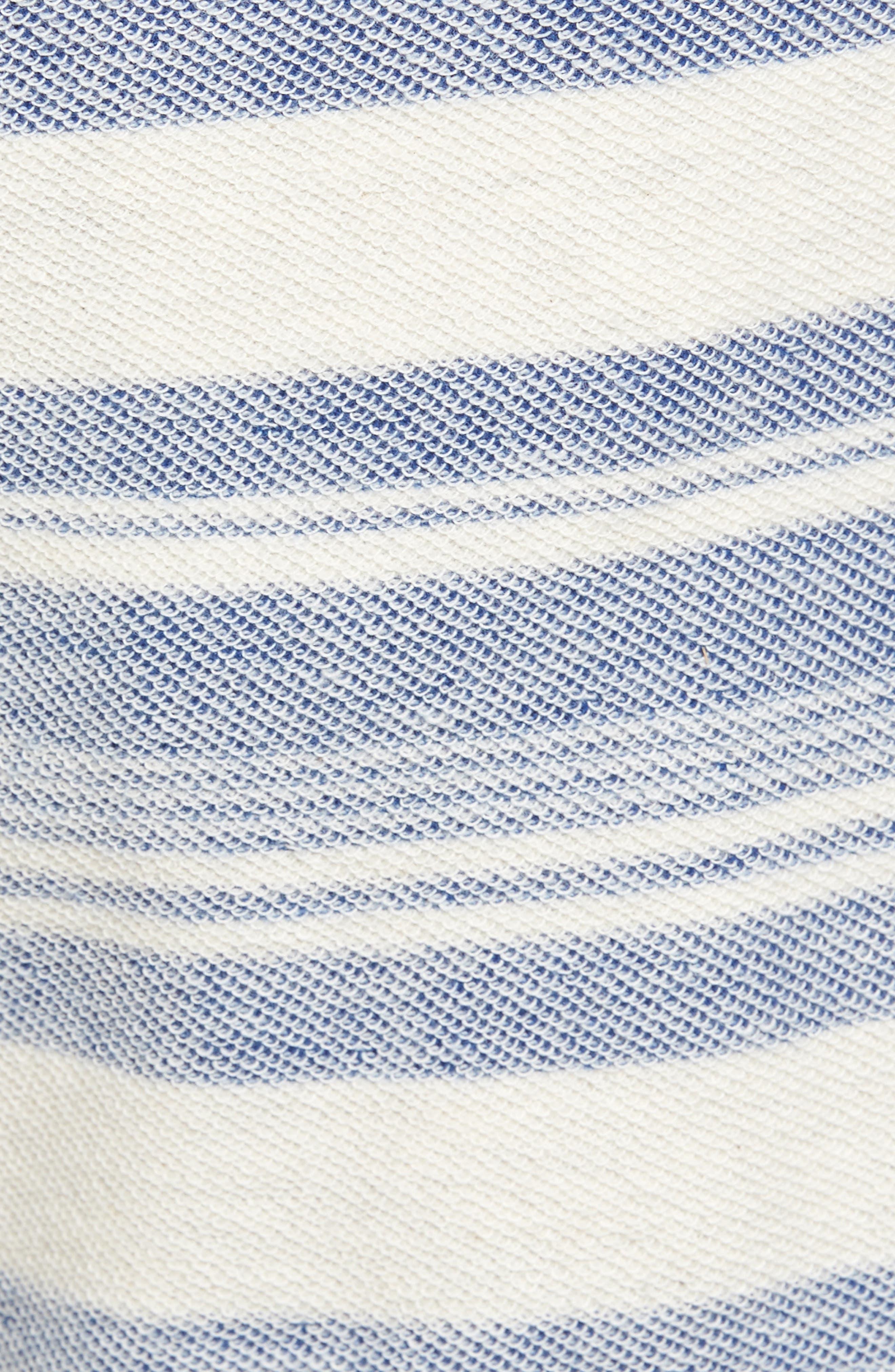 Stripe Reverse Terry Shorts,                             Alternate thumbnail 5, color,                             461