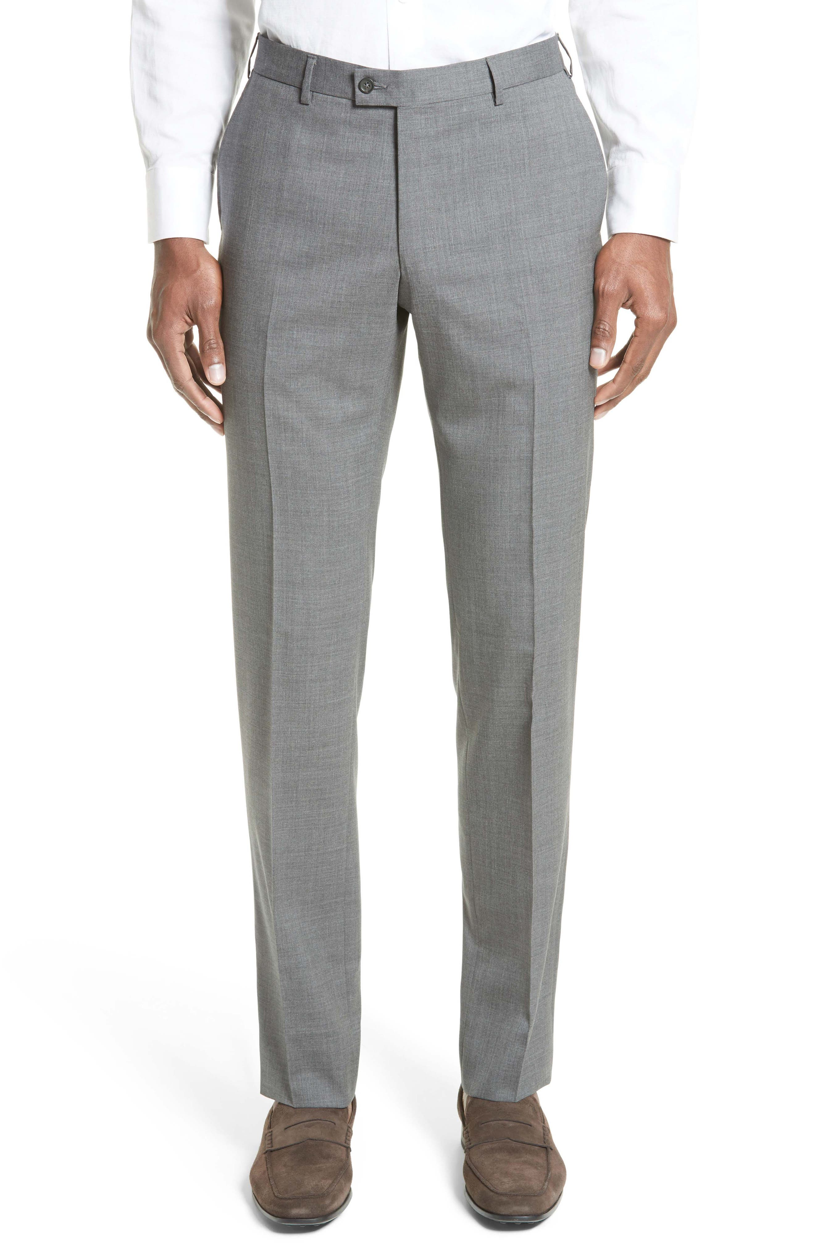 Tropical Wool Suit Trousers,                         Main,                         color, 020