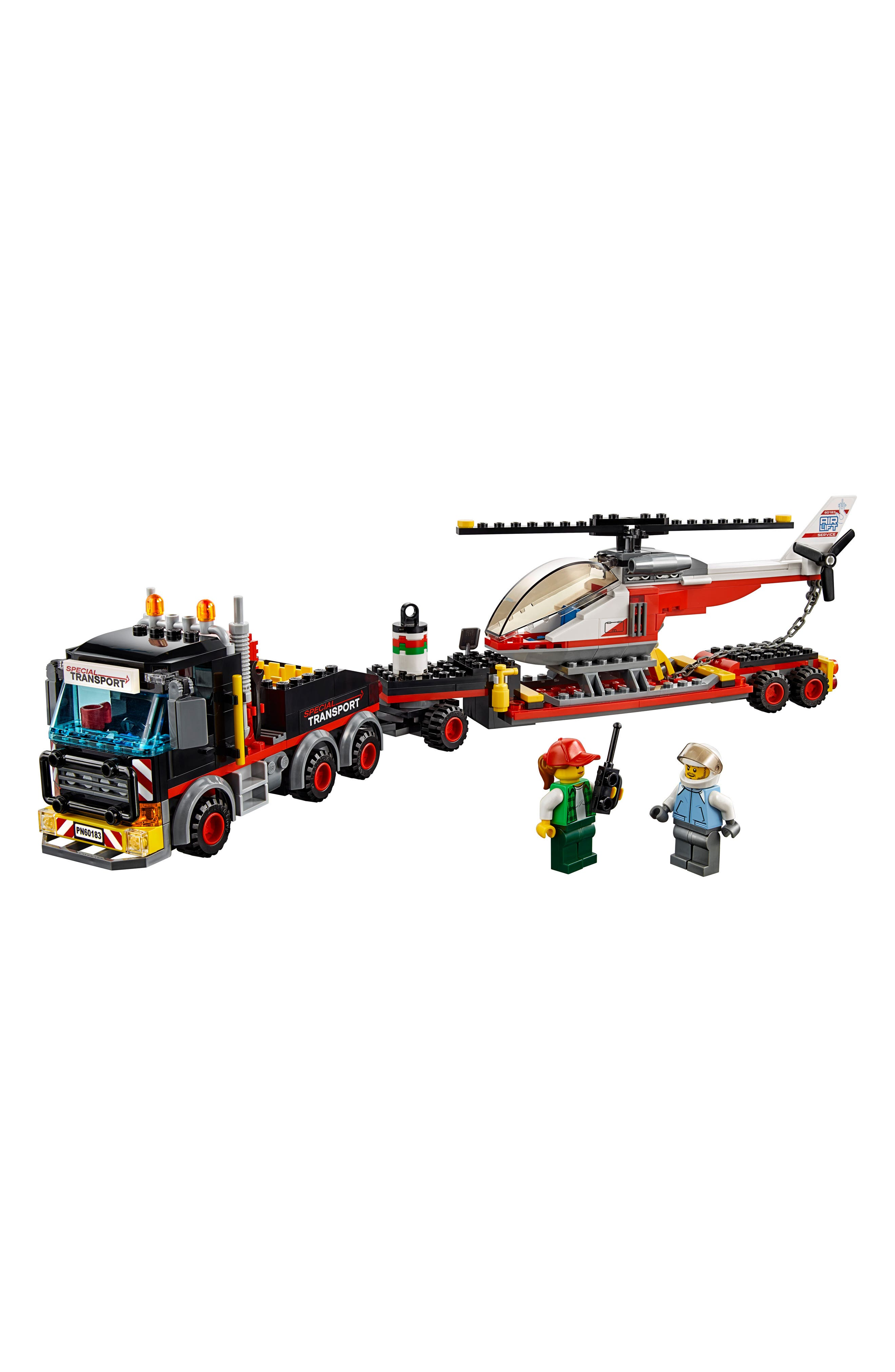 City Heavy Cargo Transport - 60183,                             Alternate thumbnail 2, color,                             001