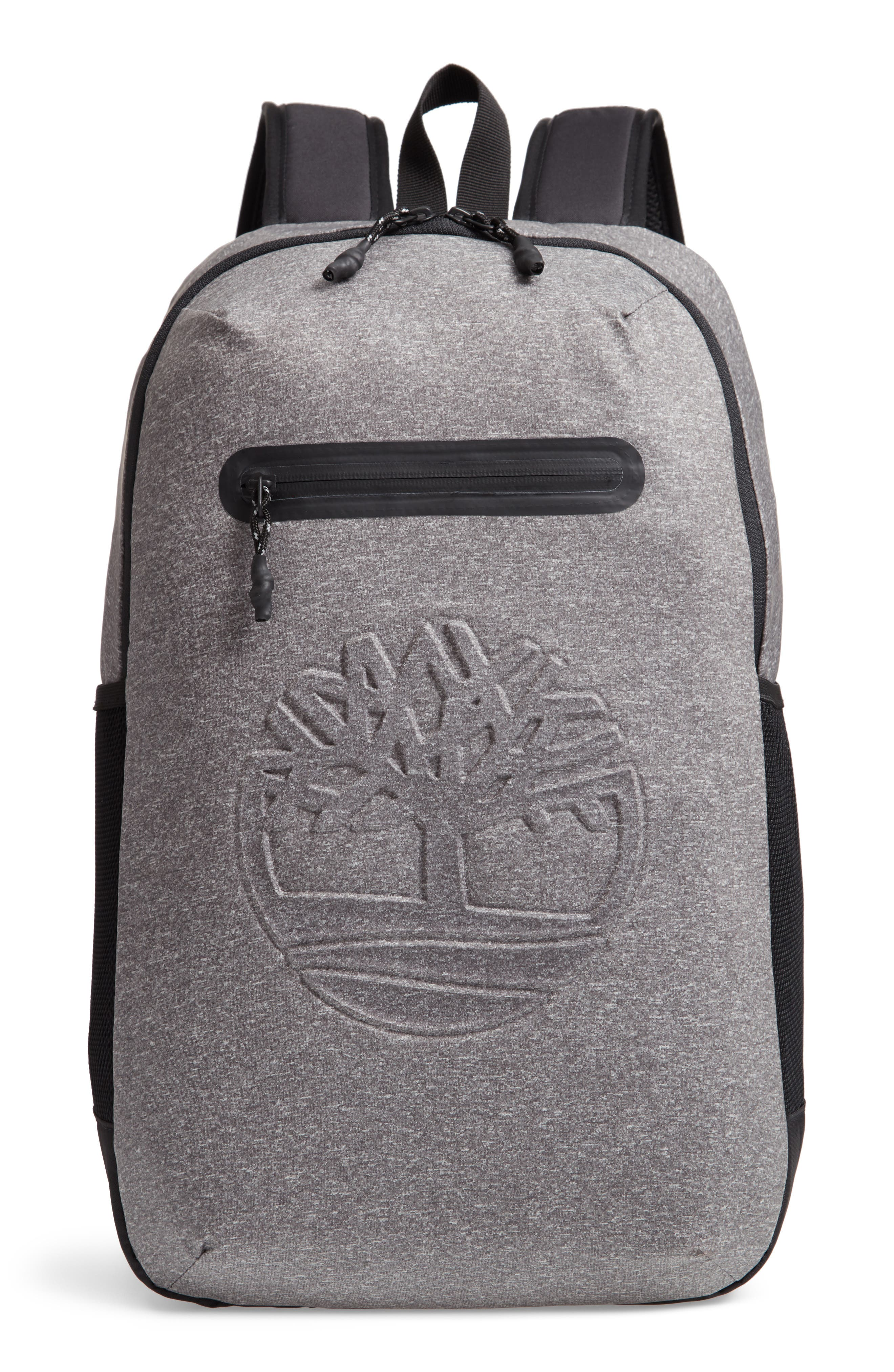 Timberland Top Zip Backpack - Grey