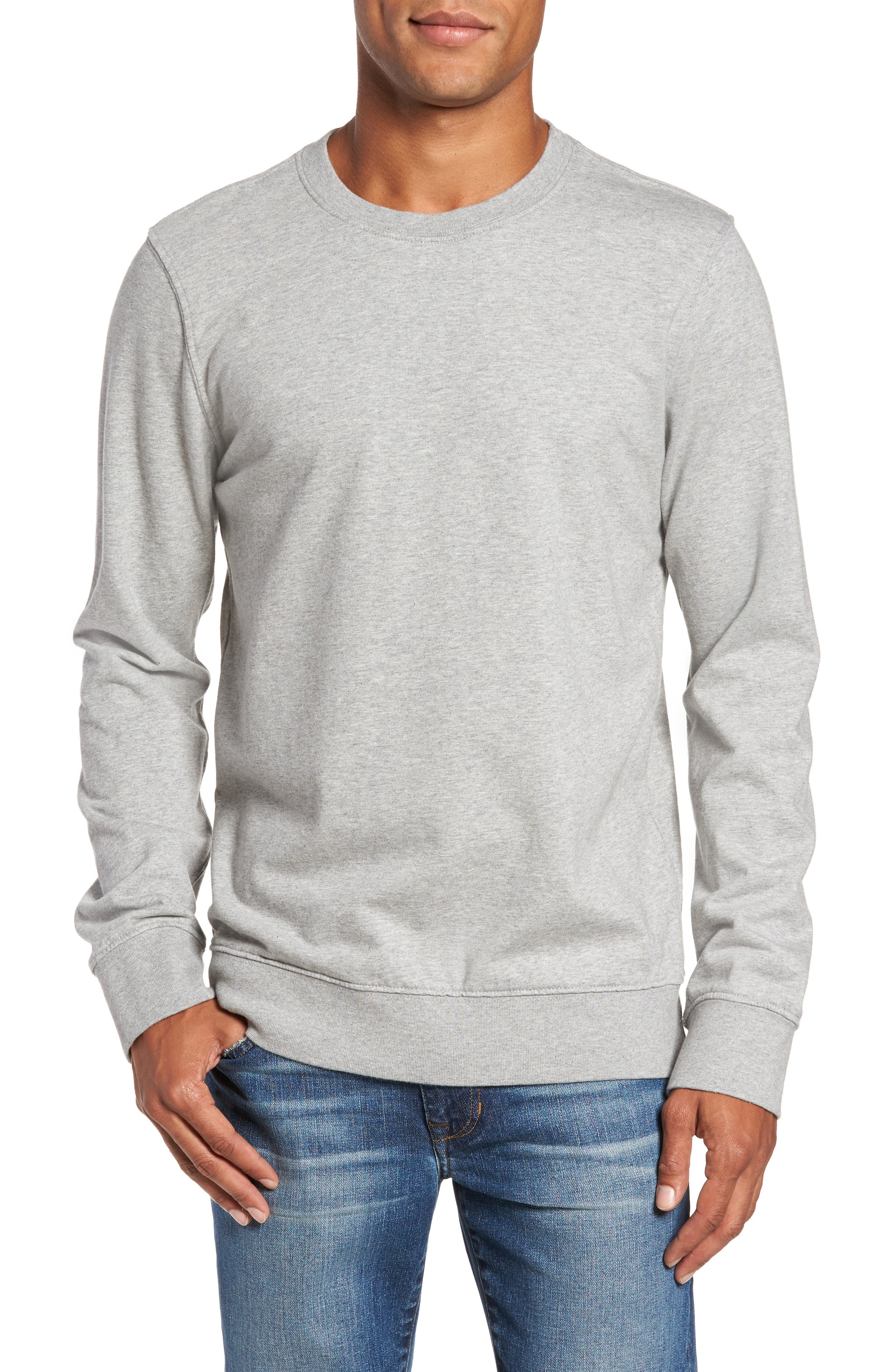 French Terry Sweatshirt,                             Main thumbnail 2, color,
