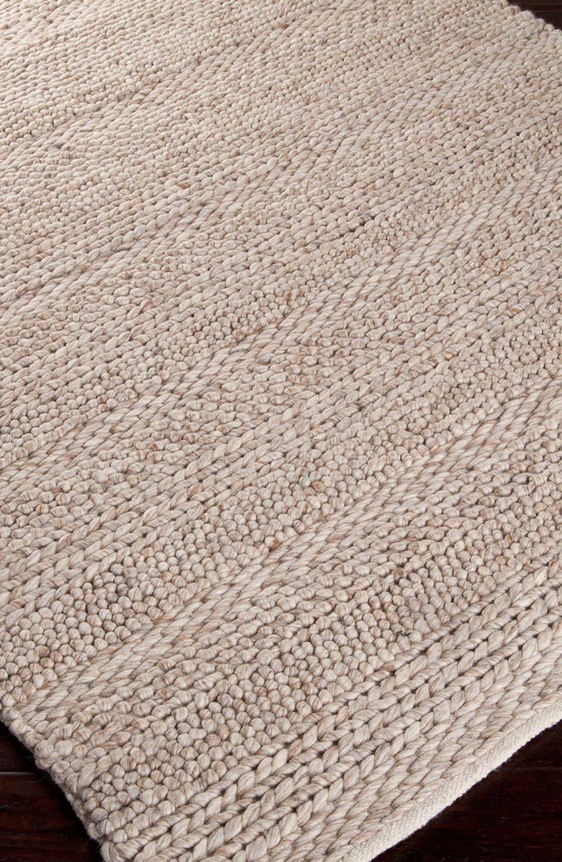 'Tahoe' Wool Rug,                             Alternate thumbnail 3, color,                             900
