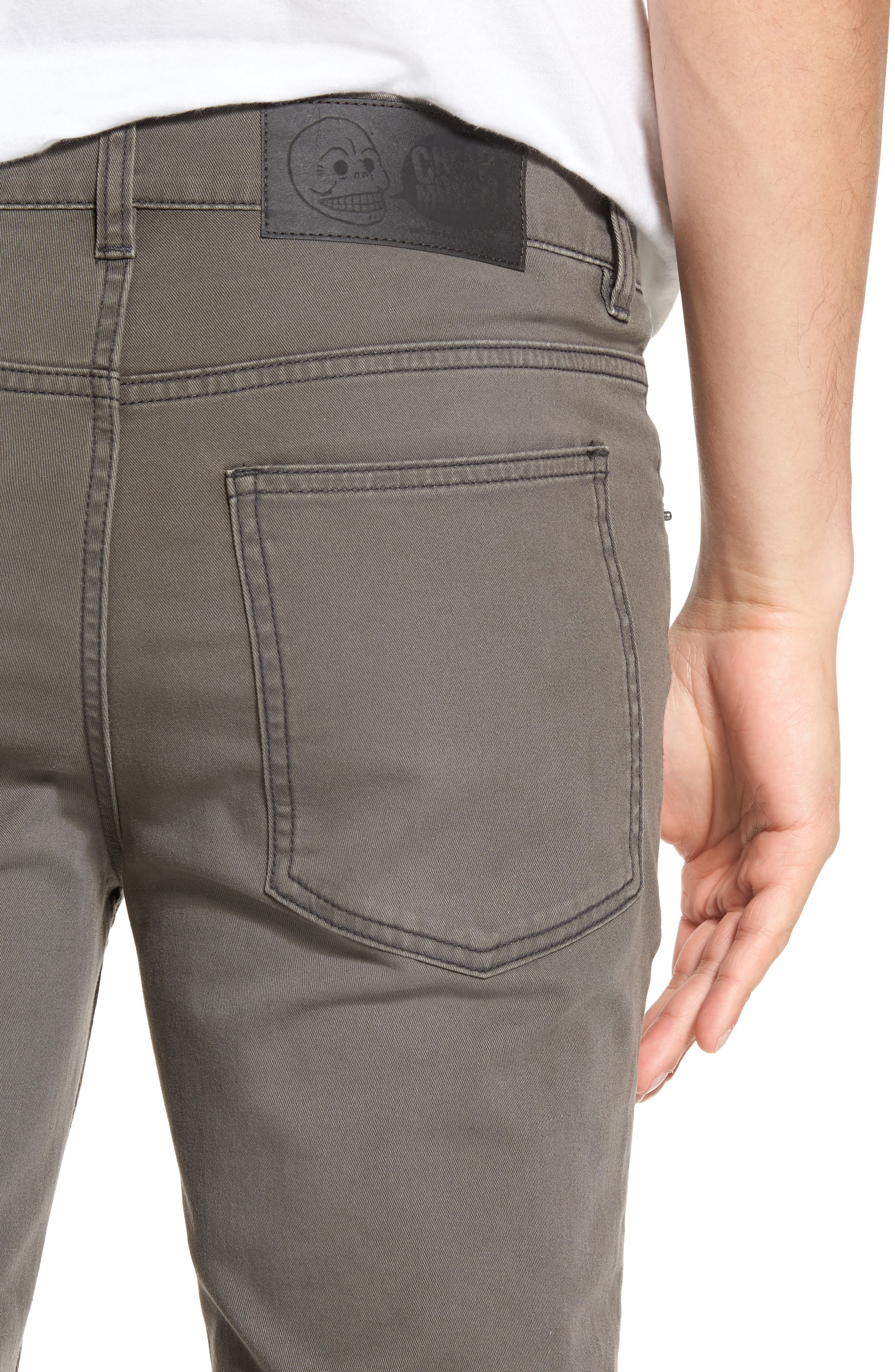 Tight Skinny Fit Jeans,                             Alternate thumbnail 4, color,