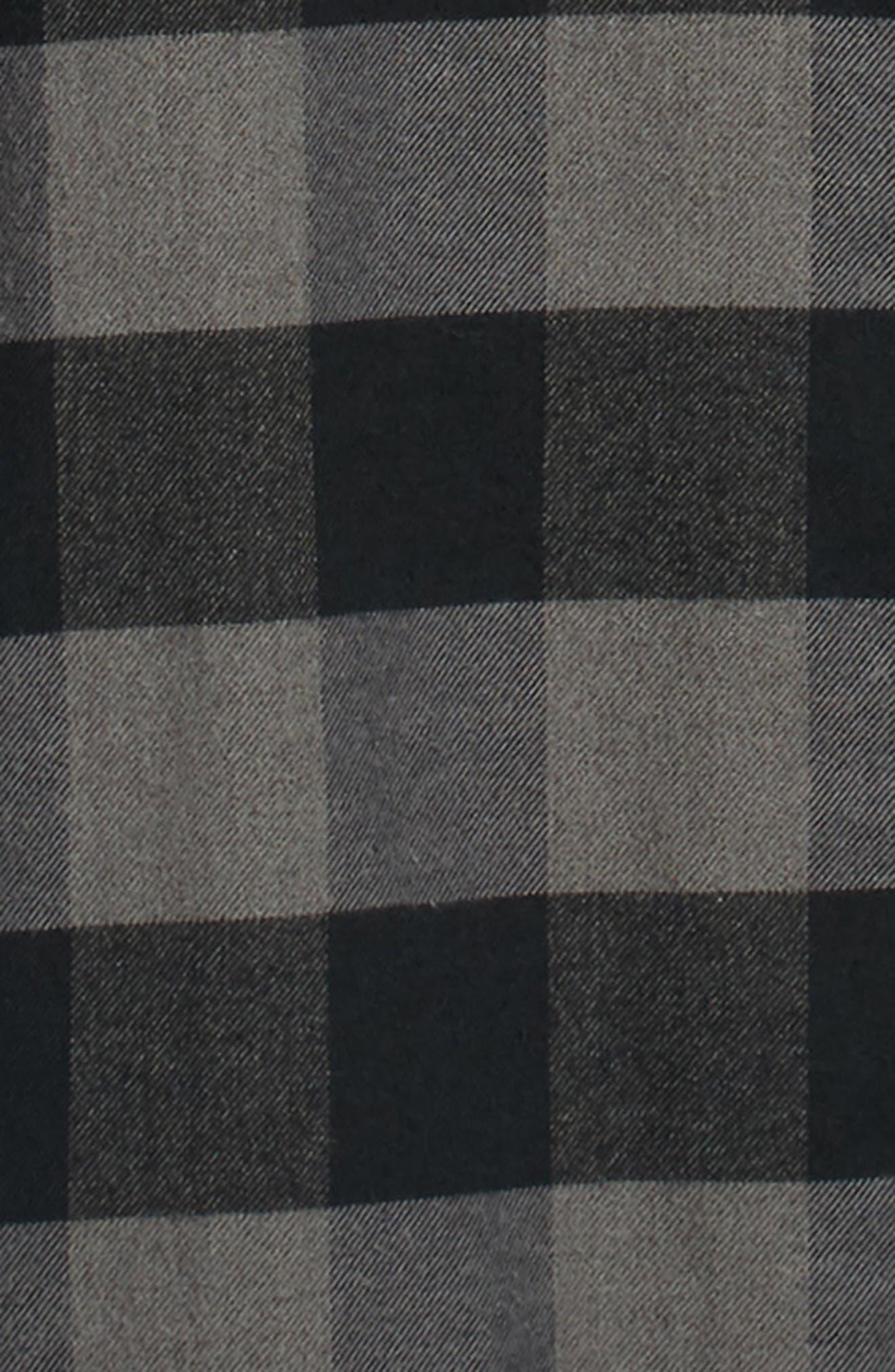 Deepwood Regular Fit Lined Flannel Shirt Jacket,                             Alternate thumbnail 6, color,                             EVENING SKY