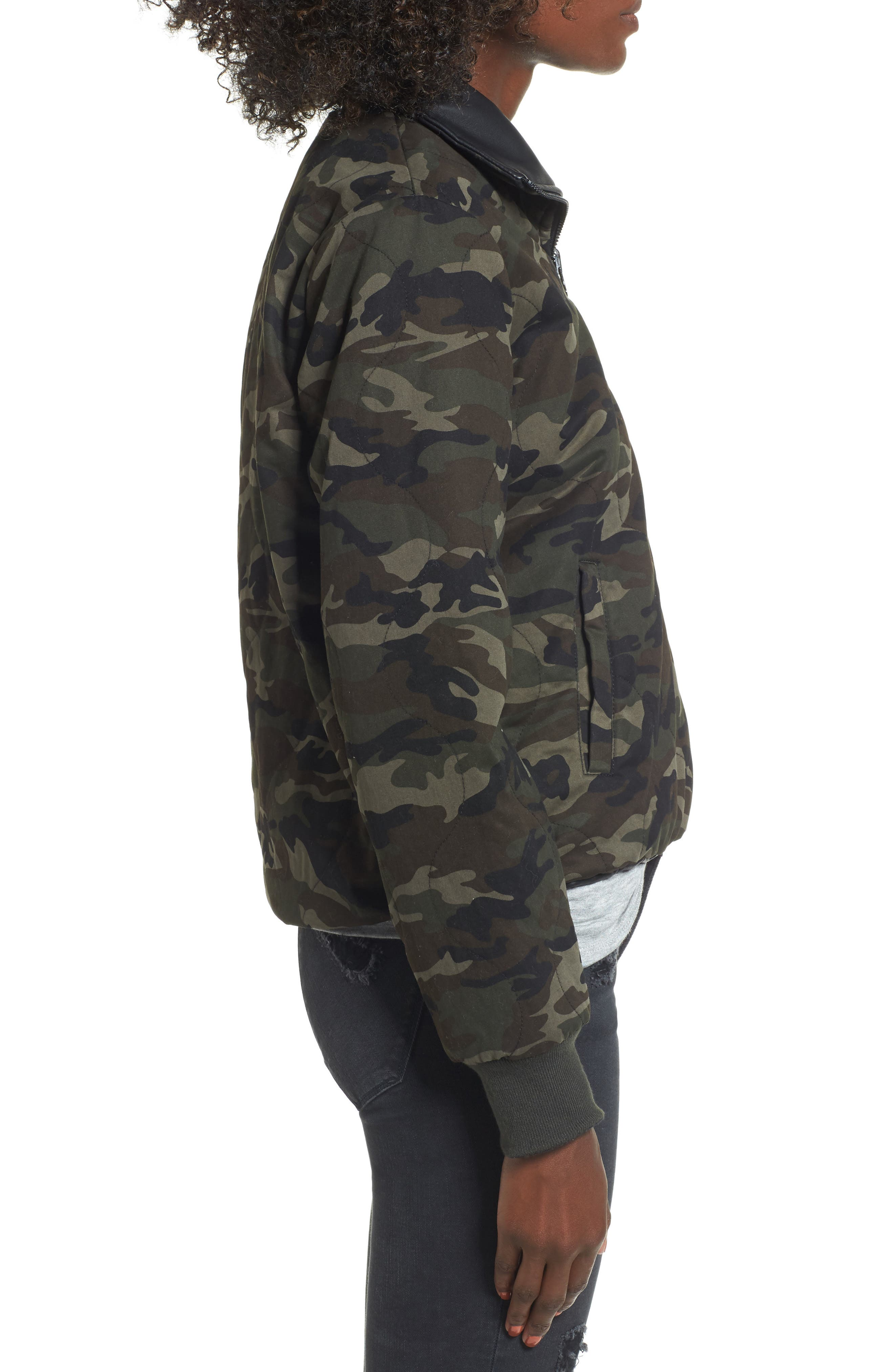 Reversible Camo Jacket,                             Alternate thumbnail 3, color,                             300