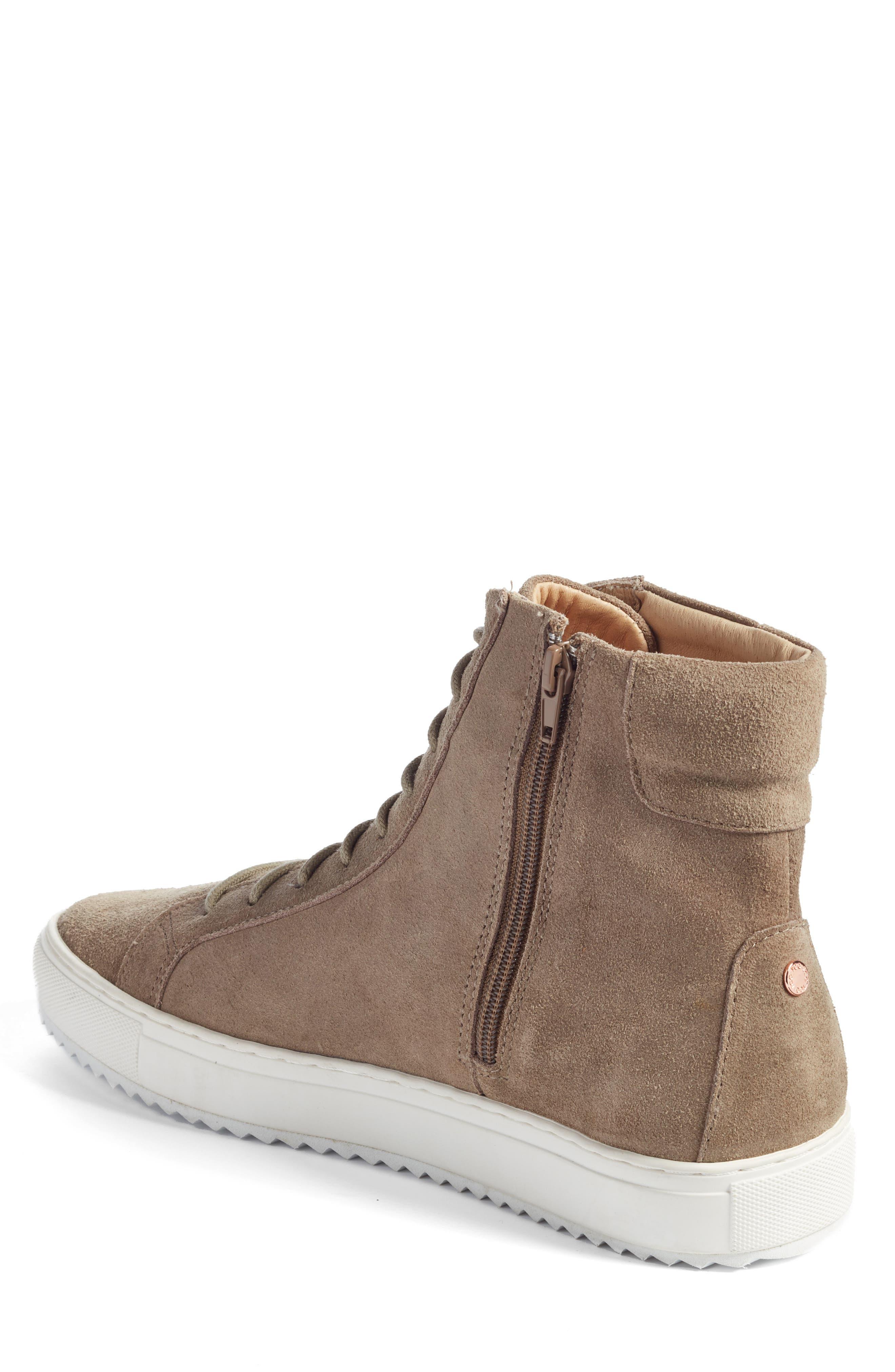 Logan Water Resistant High Top Sneaker,                             Alternate thumbnail 7, color,