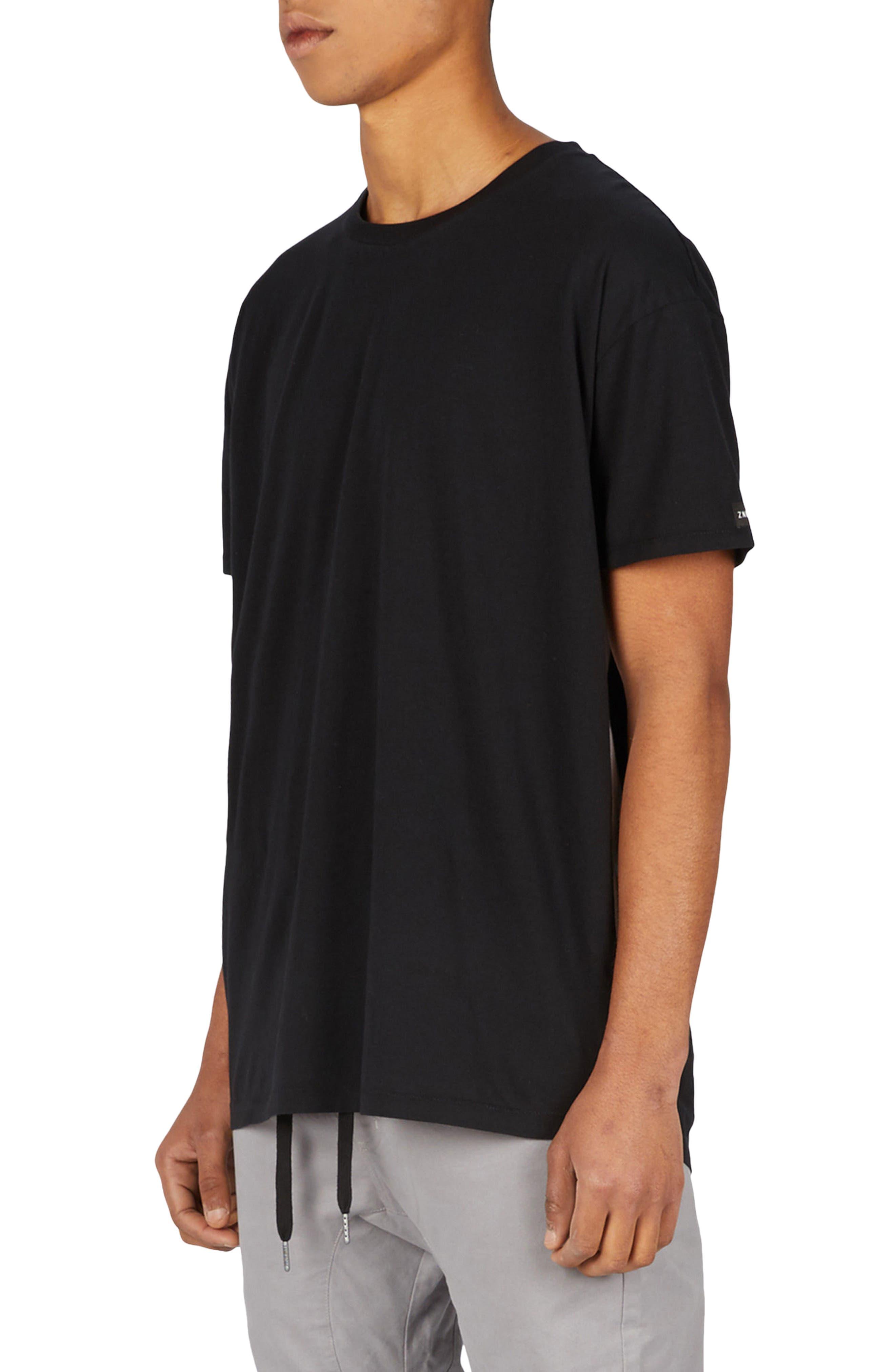Sideline Rugger T-Shirt,                             Main thumbnail 1, color,                             BLACK