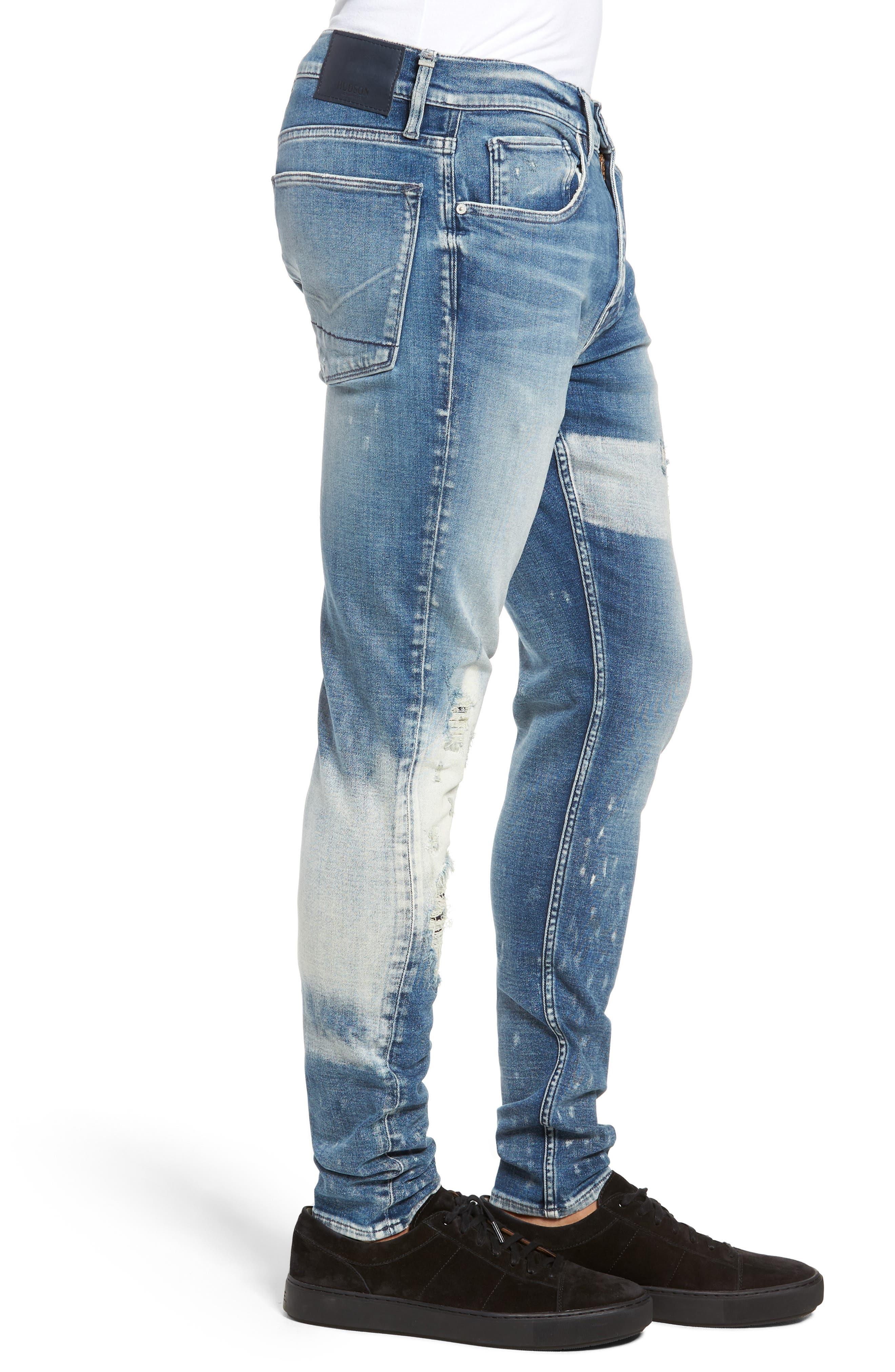 Zack Skinny Fit Jeans,                             Alternate thumbnail 3, color,                             MCNAB
